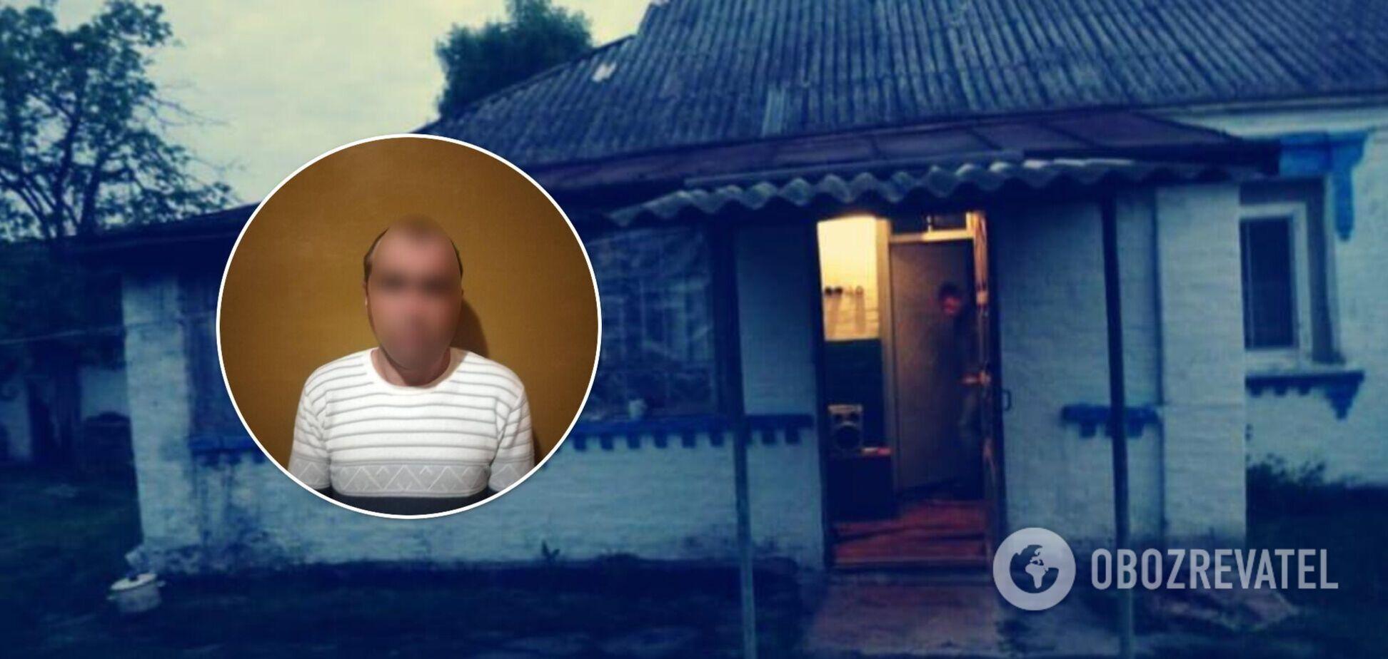 На Київщині чоловік вдарив ножем співмешканку, а потім наказав її сину викликати швидку