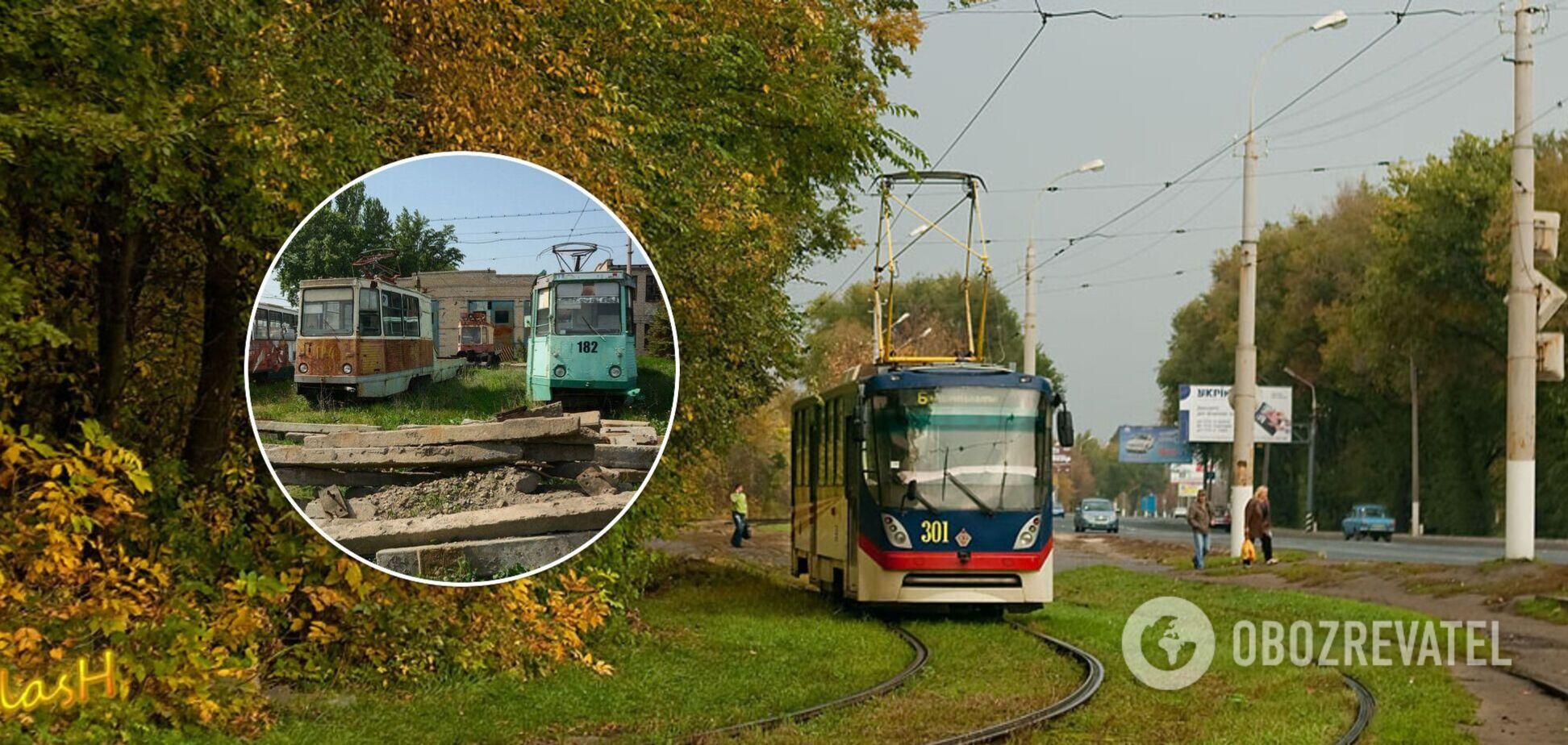 У мережі показали знищений трамвайний парк у Луганську після приходу 'русского міра'. Фото