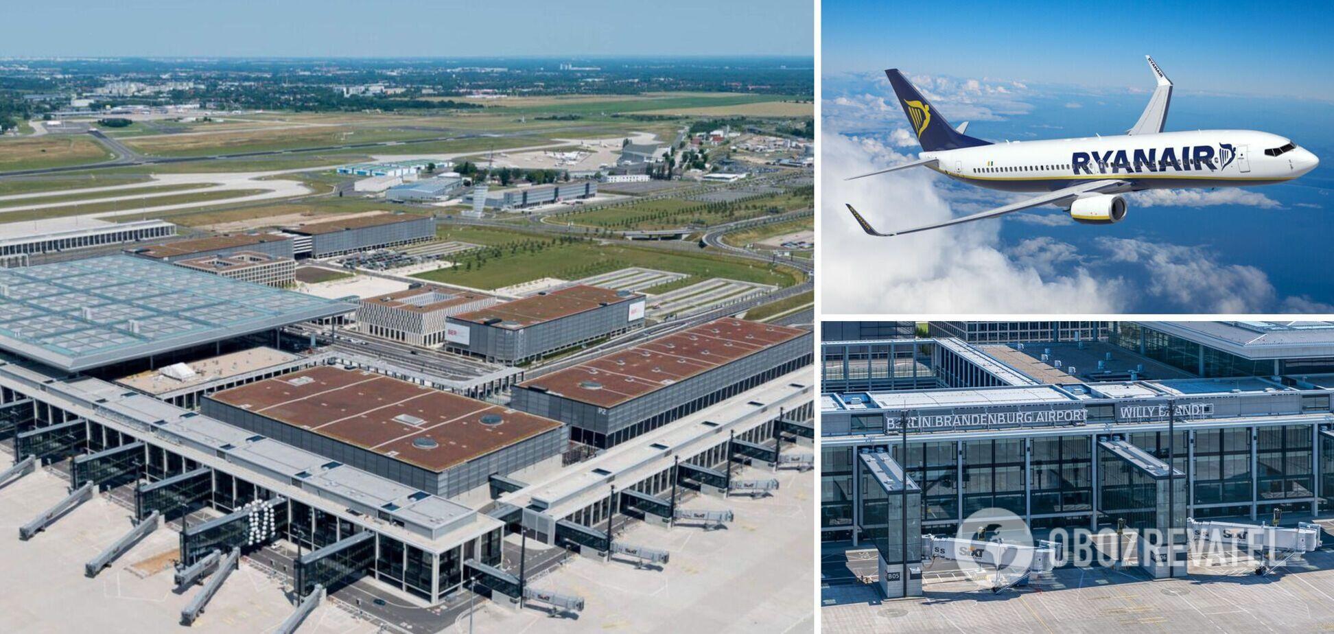 В Европе экстренно посадили еще один 'заминированный' самолет Ryanair