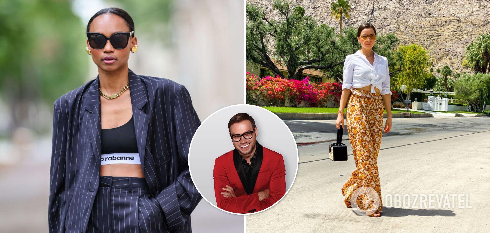 Який одяг буде в моді влітку, а від якого потрібно позбутися: правила стилю від Андре Тана