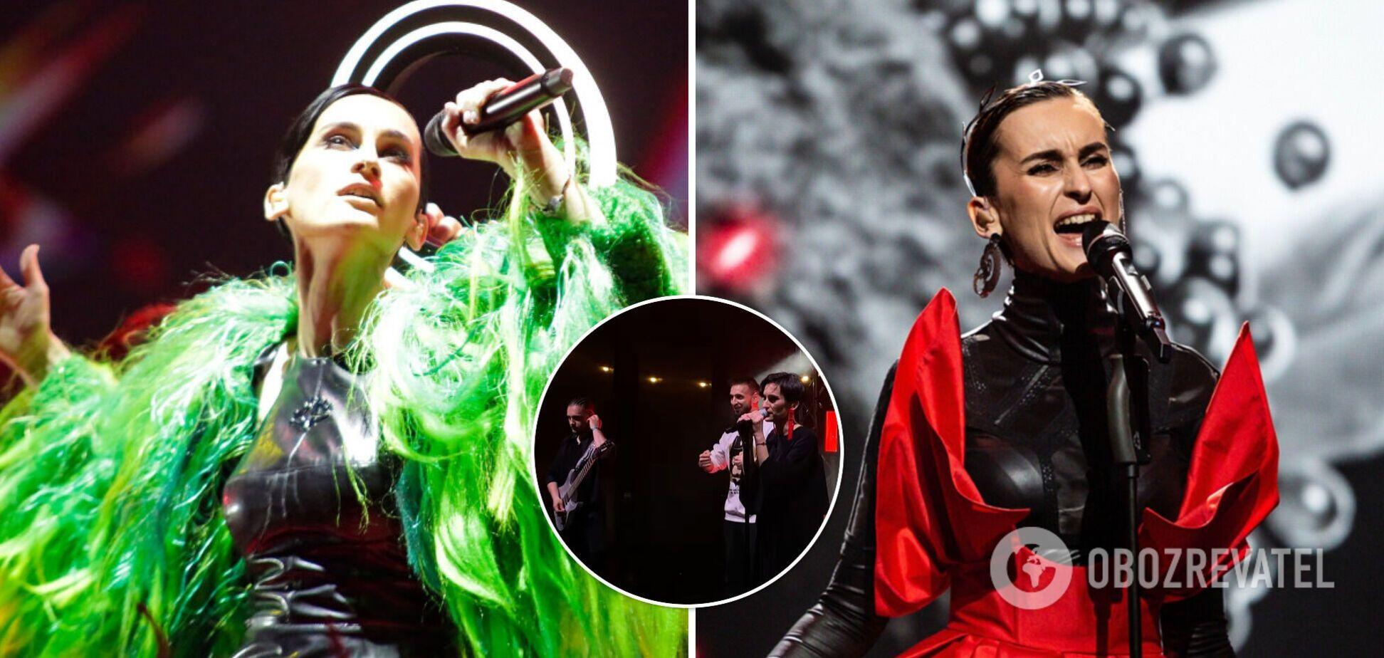Группа Go_A впервые исполнила SHUM после успеха на Евровидении 2021. Видео