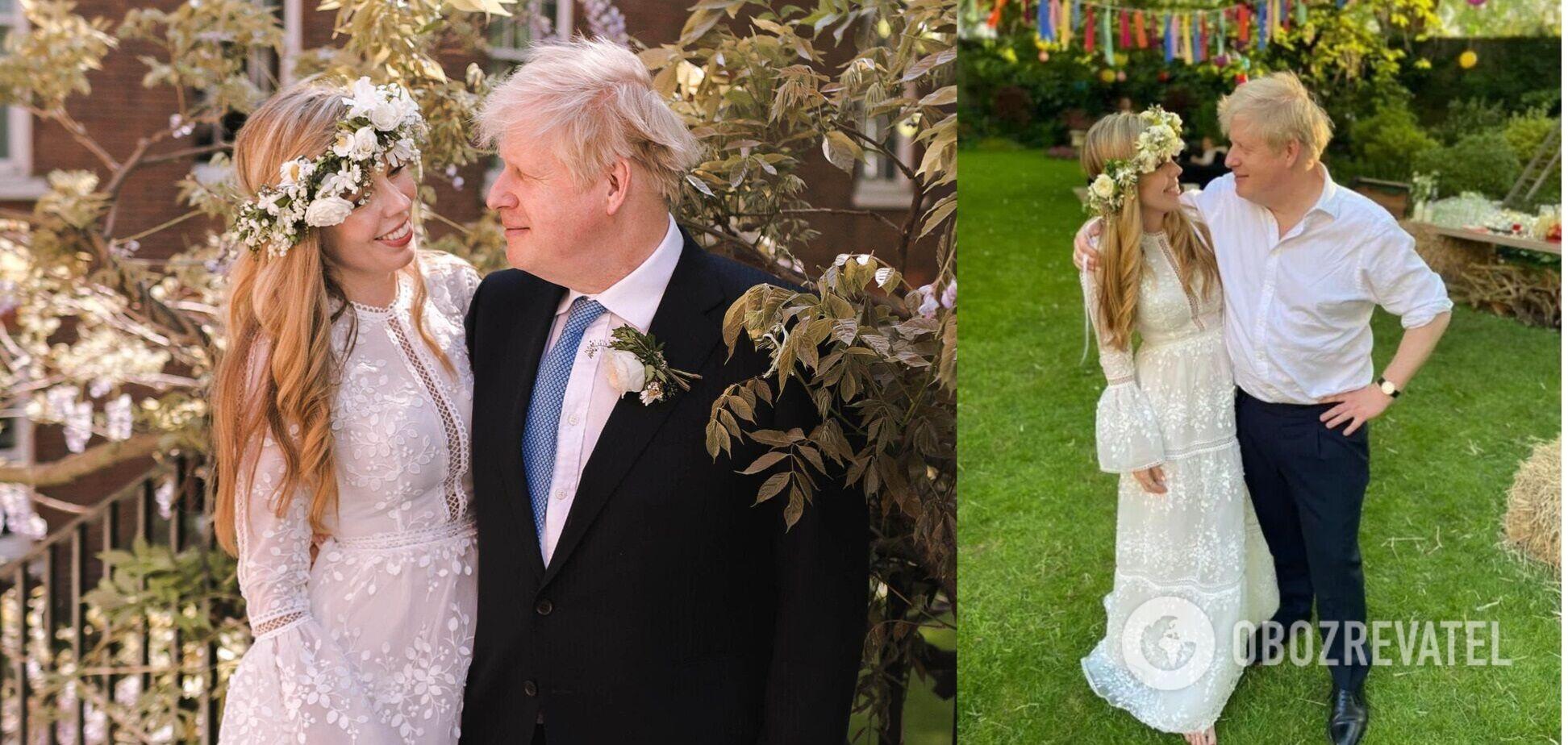 Какой была тайная свадьба Бориса Джонсона