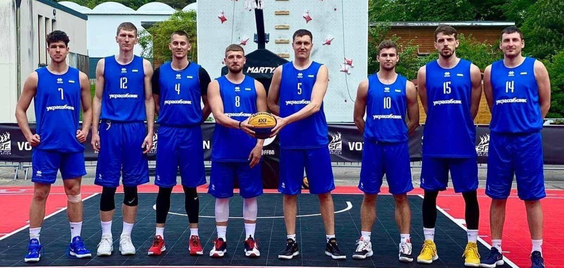 Украинские баскетболисты 3х3 на квалификационном турнире к ОИ-2020: состав группы и расписание