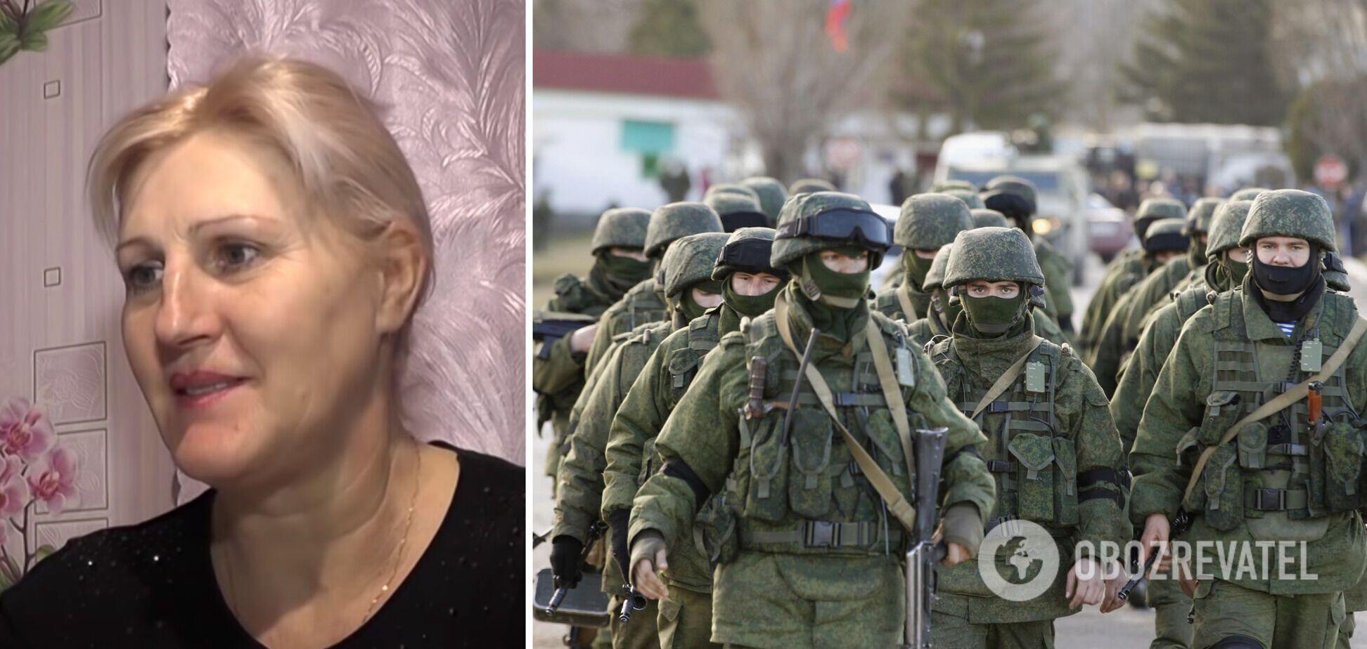 Экс-военная ВМС Украины Татьяна Шевчук