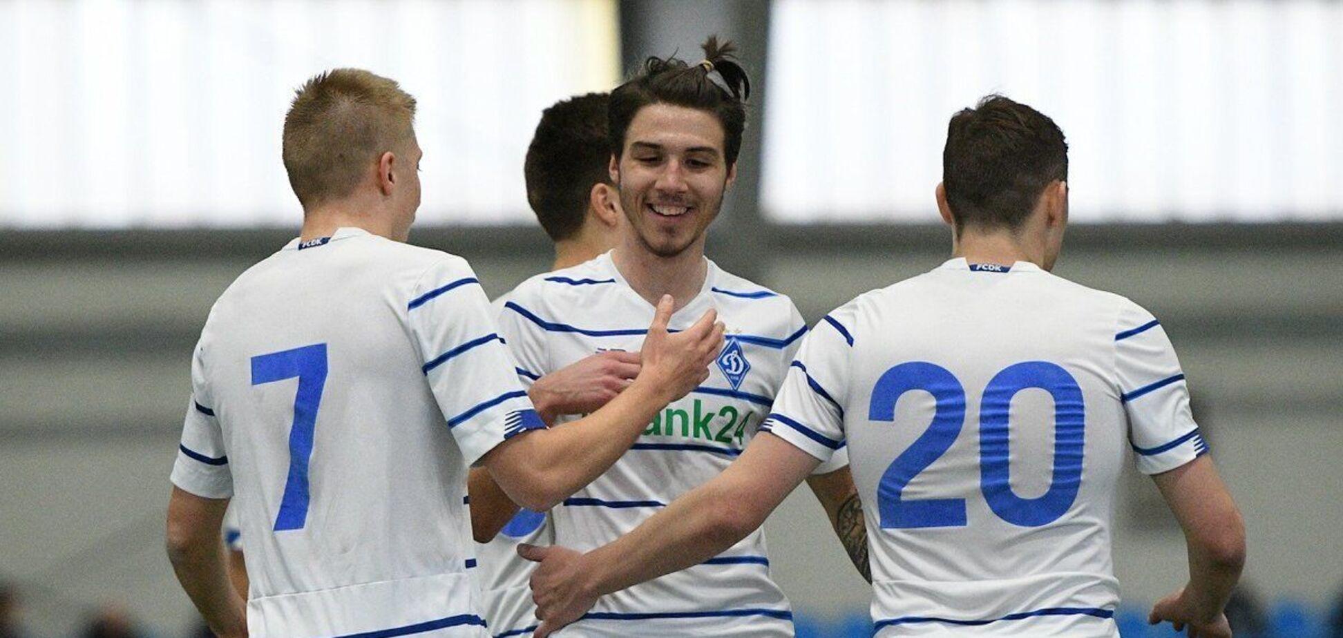Гравці 'Динамо' святкують гол
