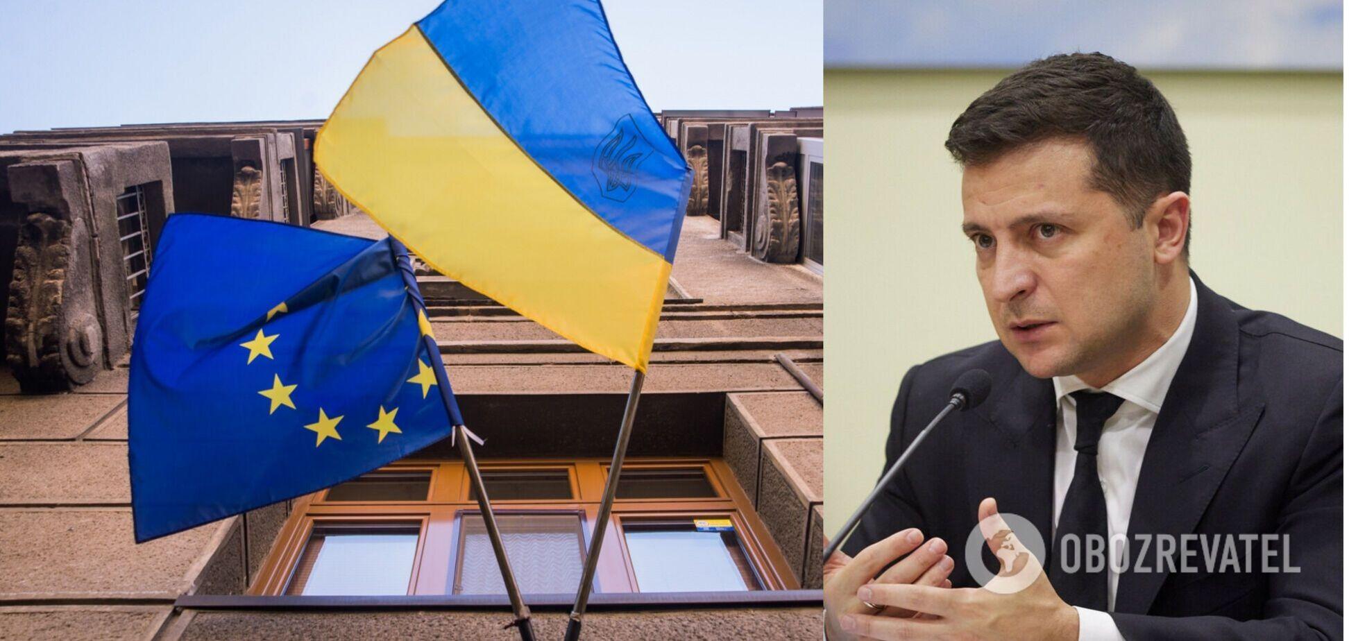 Зеленський – про вступ до ЄС: українці вже сьогодні впливають на долю Європи