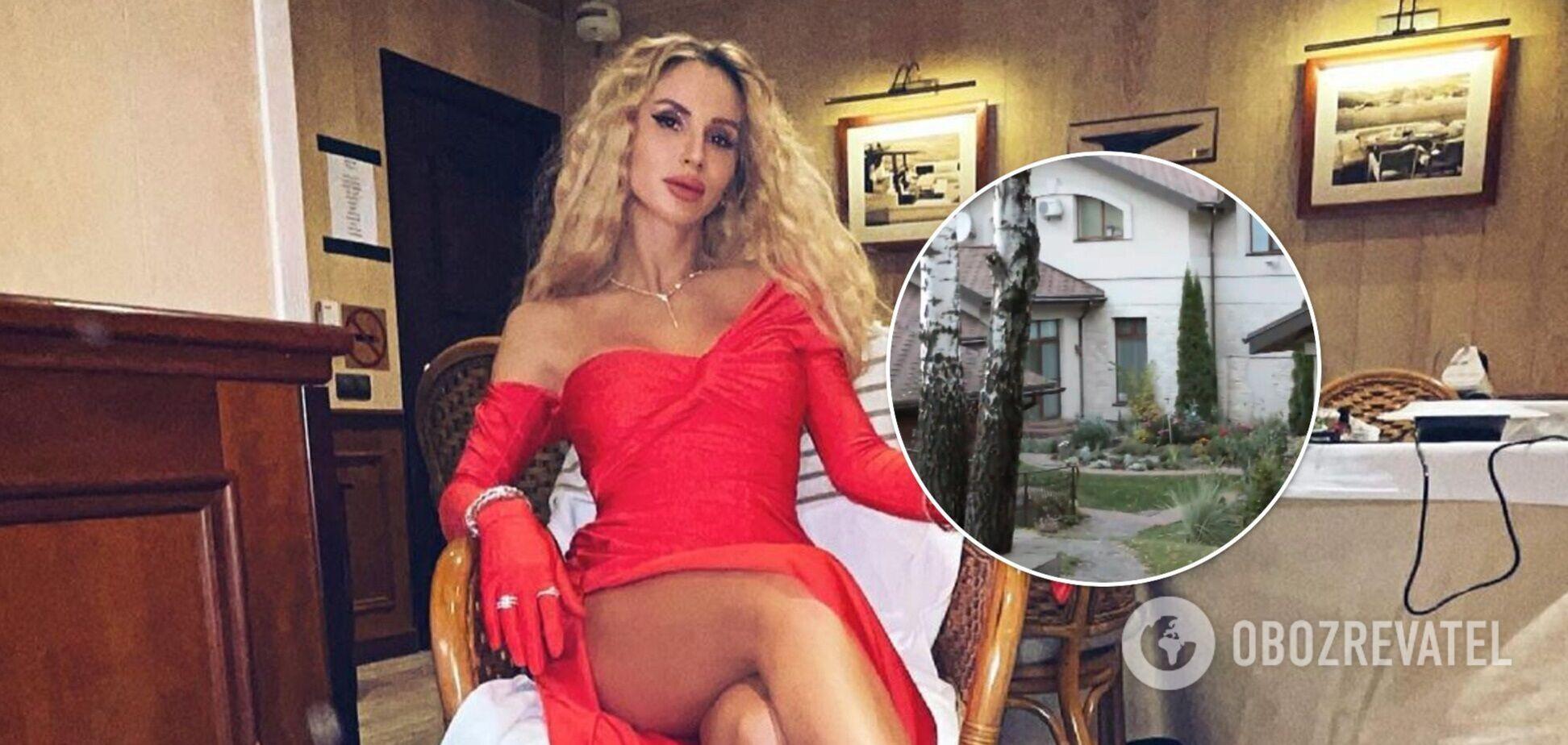 У мережі показали заміський особняк Лободи