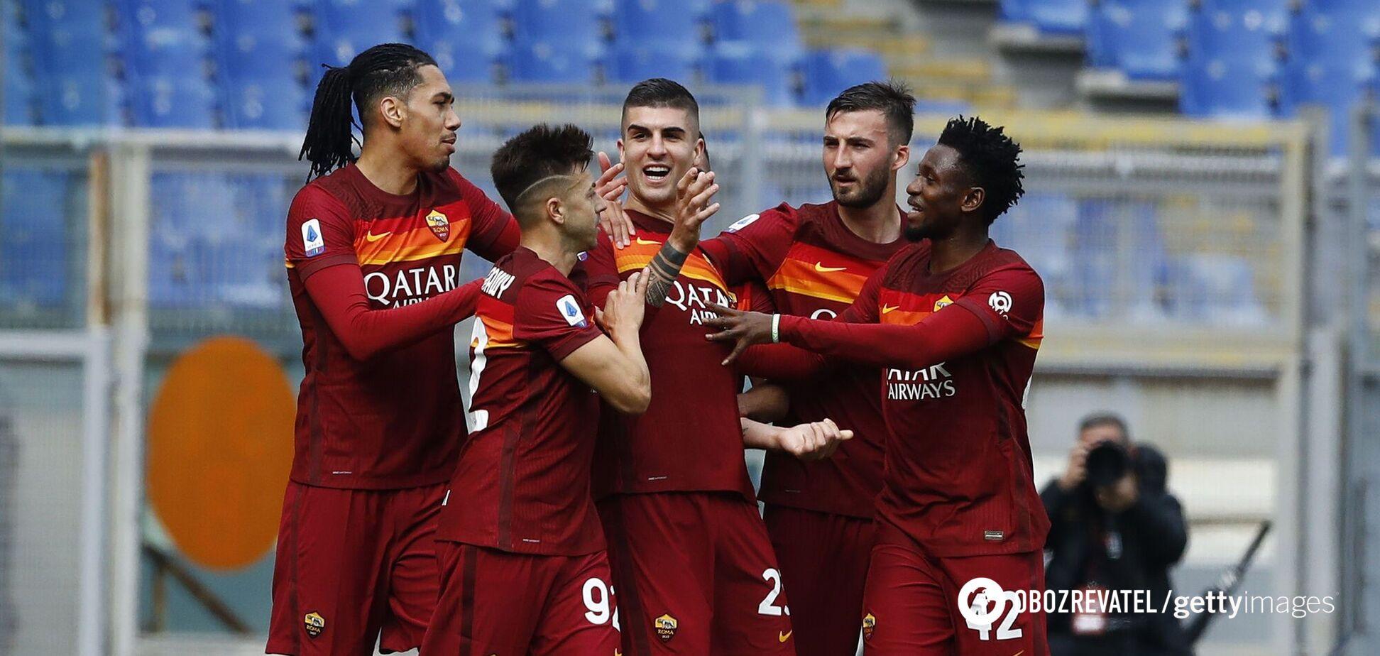 Гравці 'Роми' святкують гол