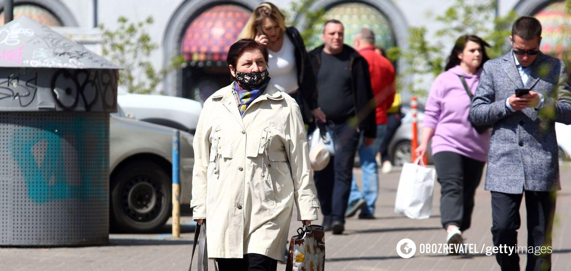 В Киеве и области за сутки COVID-19 заразились более 250 и умерли почти 20 человек