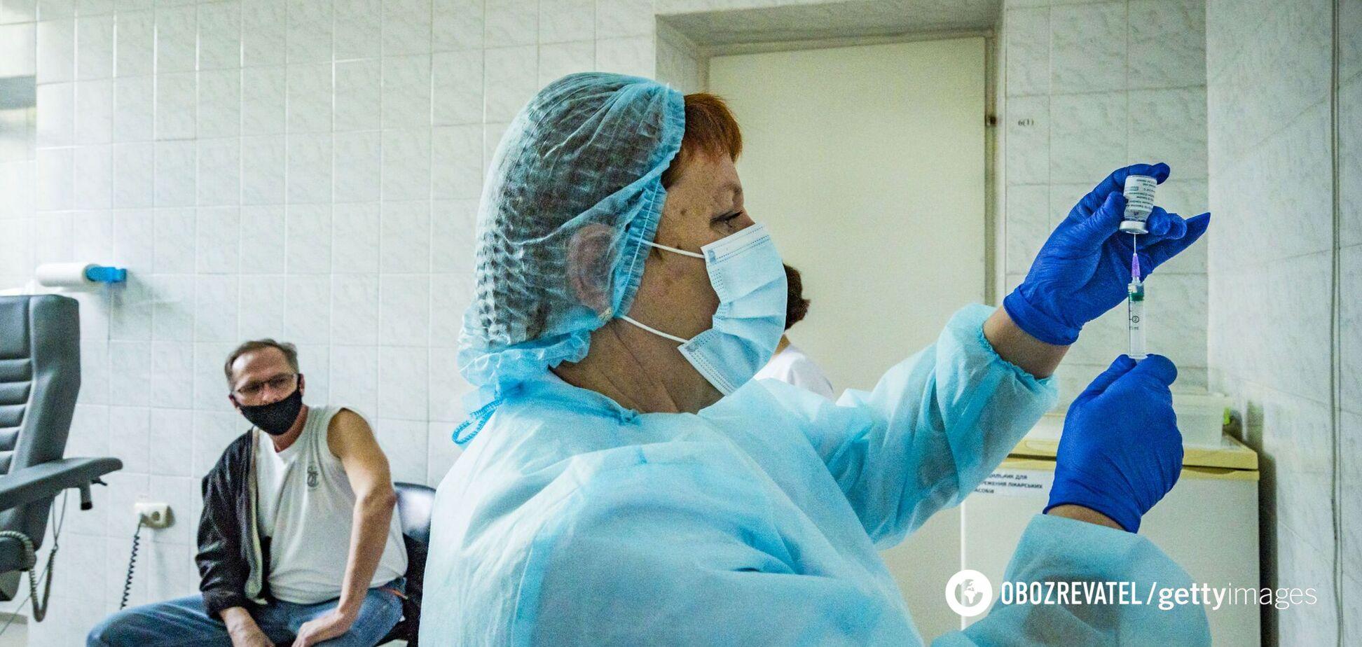 У 10 регіонах України за добу не зробили жодного щеплення від коронавірусу