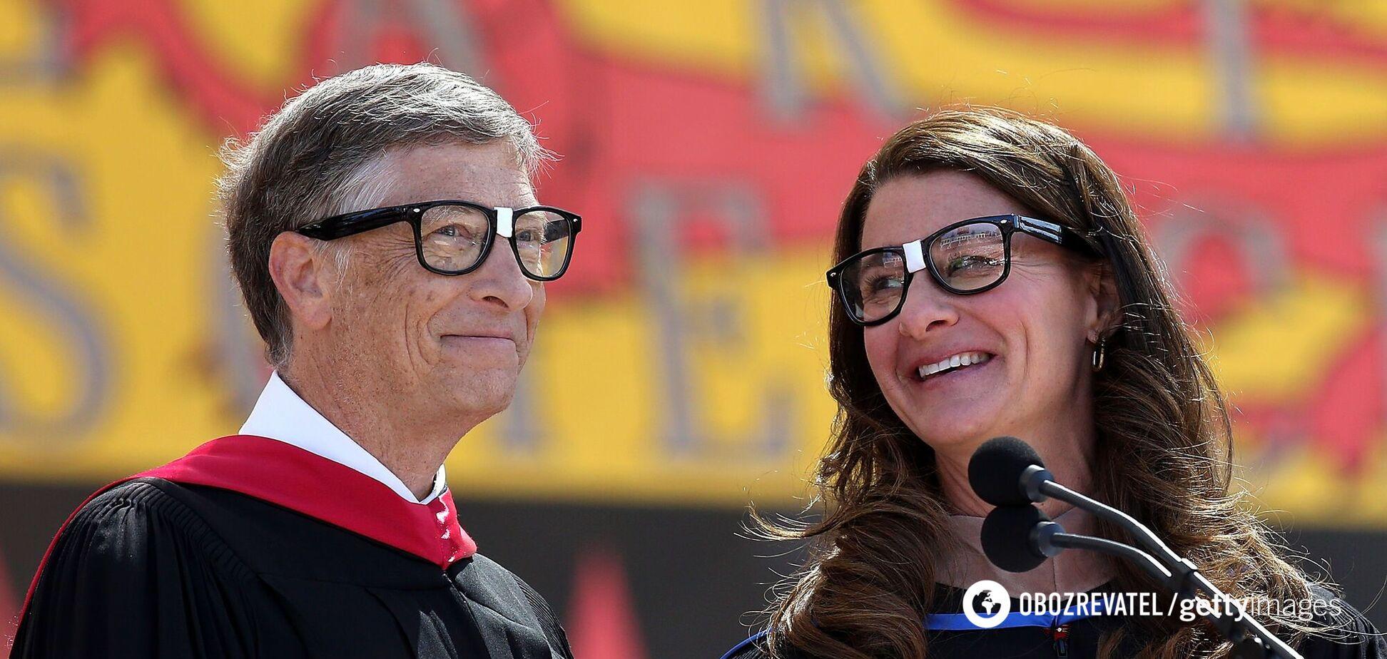 Билл Гейтс разводится с женой Мелиндой