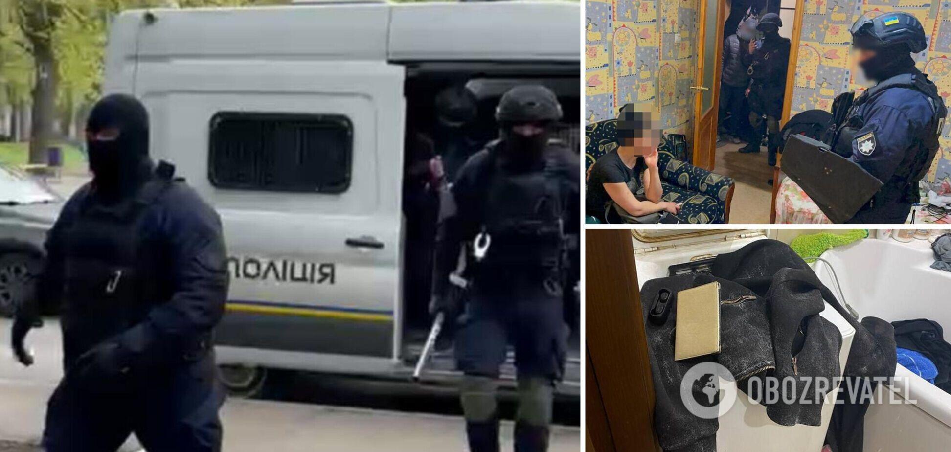 Затримання підозрюваного в подвійному вбивстві у Харкові
