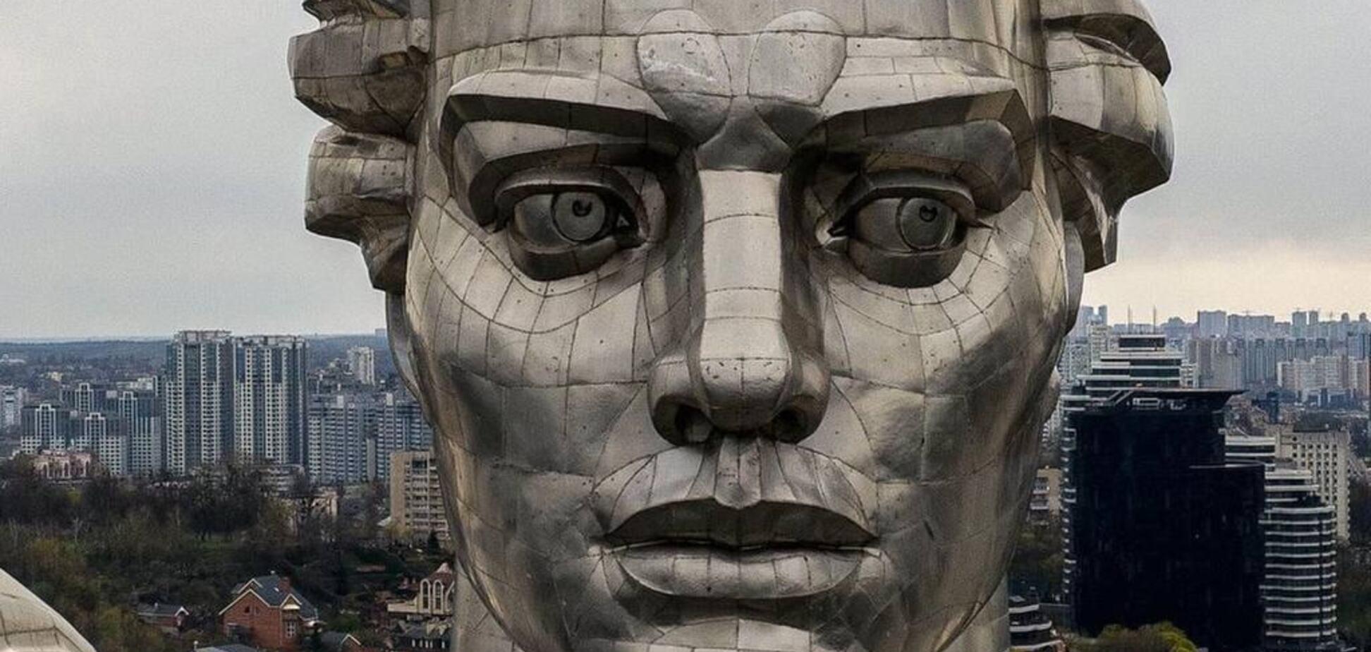 Монумент 'Батьківщина-мати' в Києві: цікаві факти про найвищу скульптуру України. Фото
