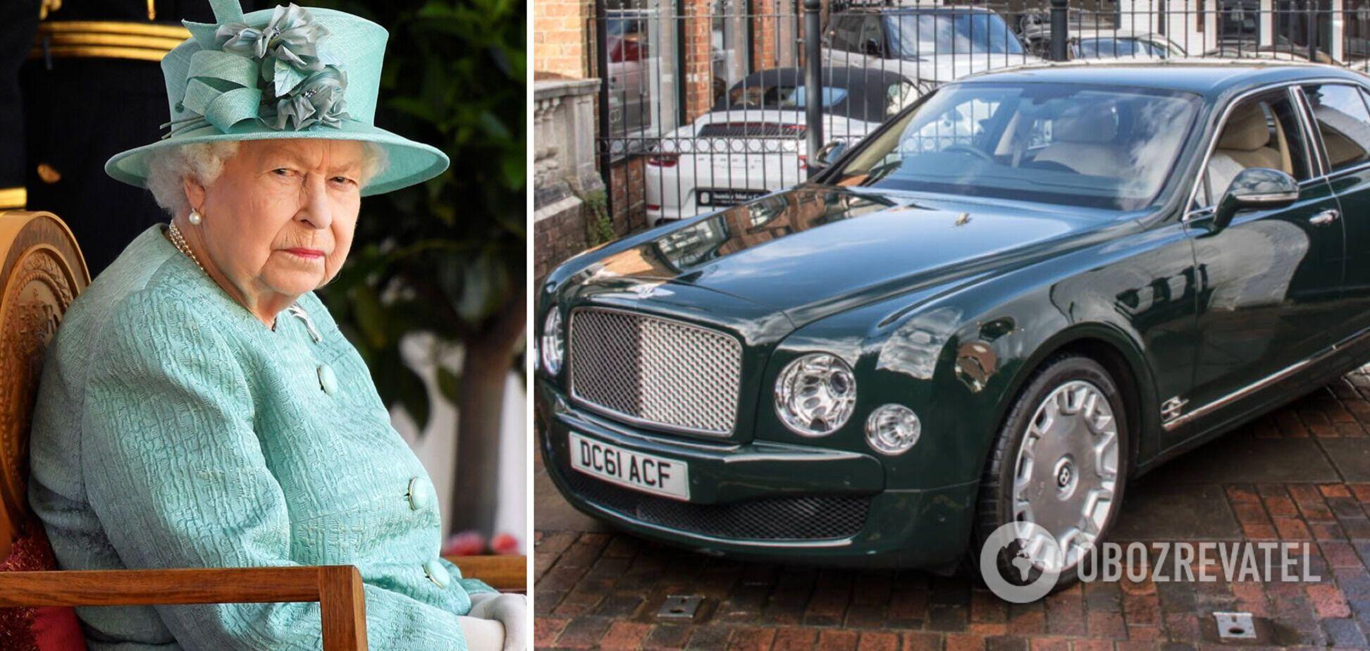BentleyЕлизаветы II продали за 180 тысяч фунтов: как выглядит авто
