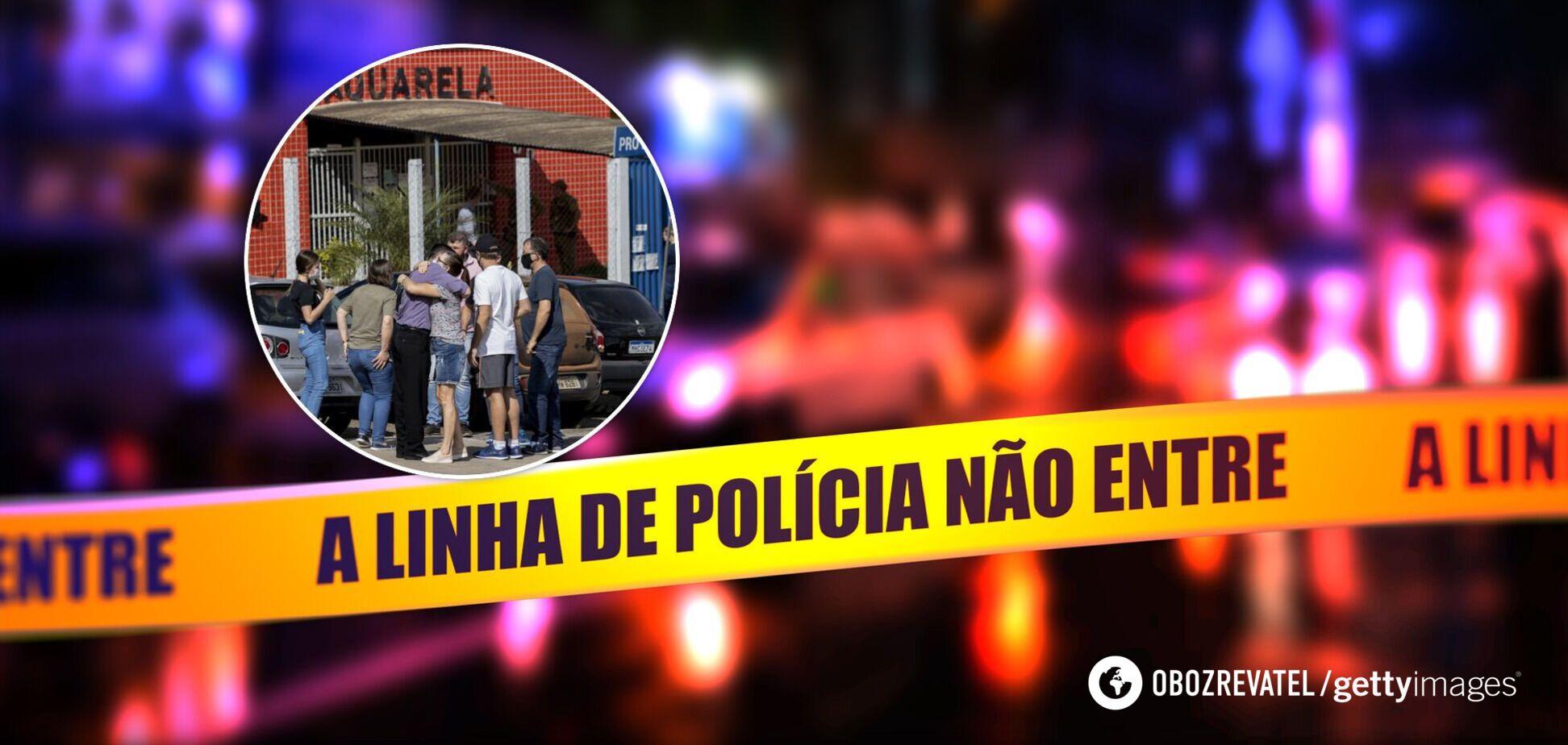 В Бразилии парень зарезал мачете трех детей и двух взрослых. Фото
