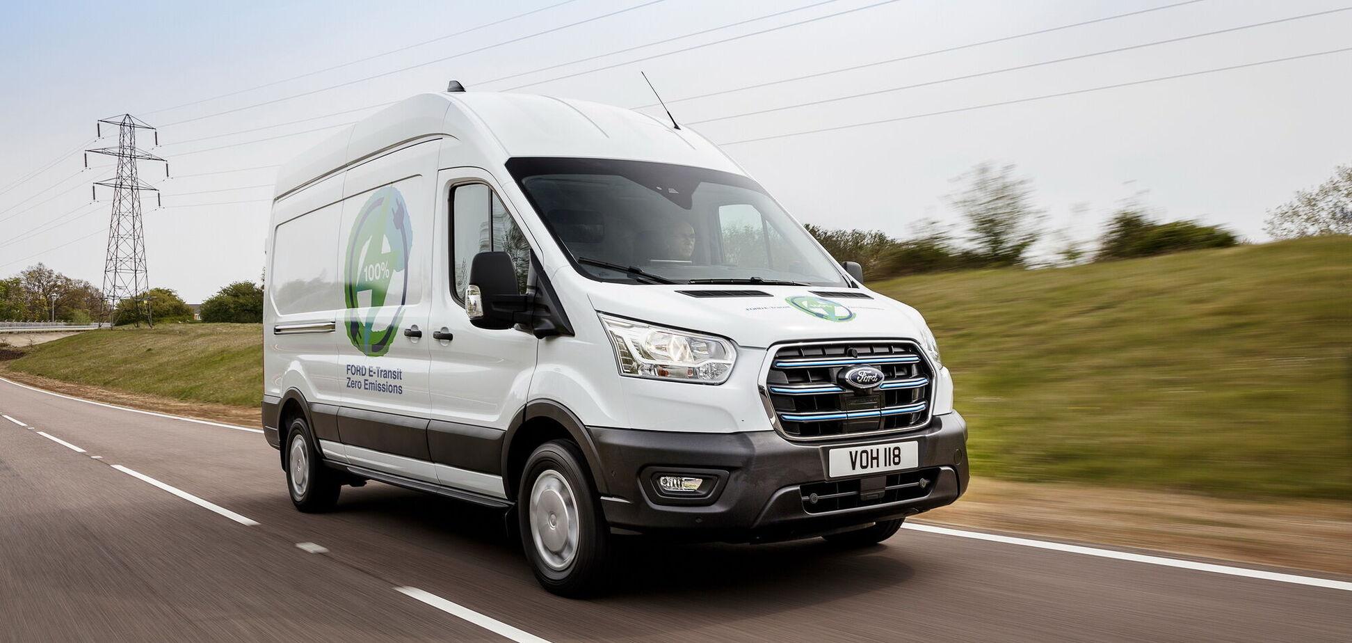 В Європі стартують споживчі тести електричних Ford E-Transit