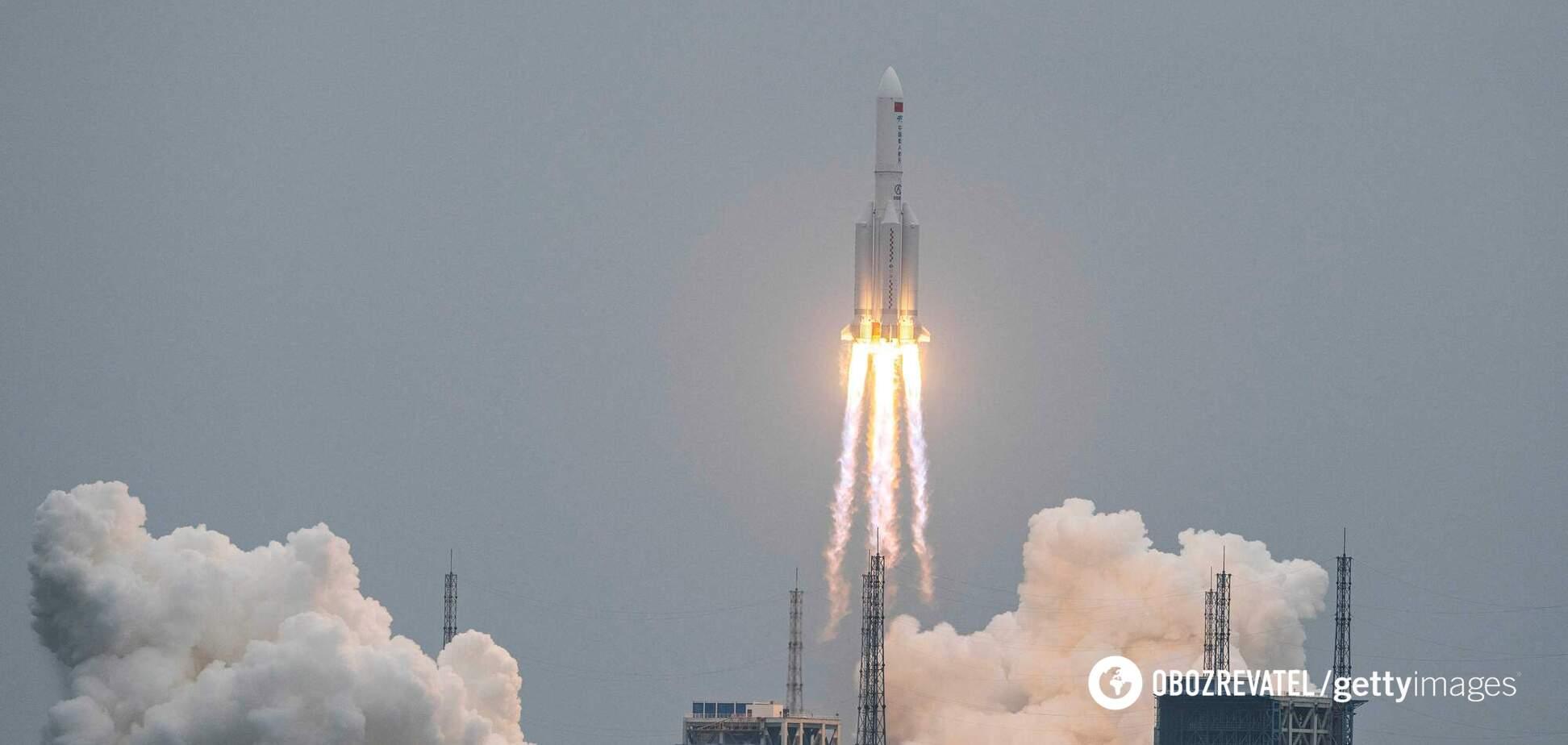 Є ймовірність, що великі частини ракети потраплять у житлові райони