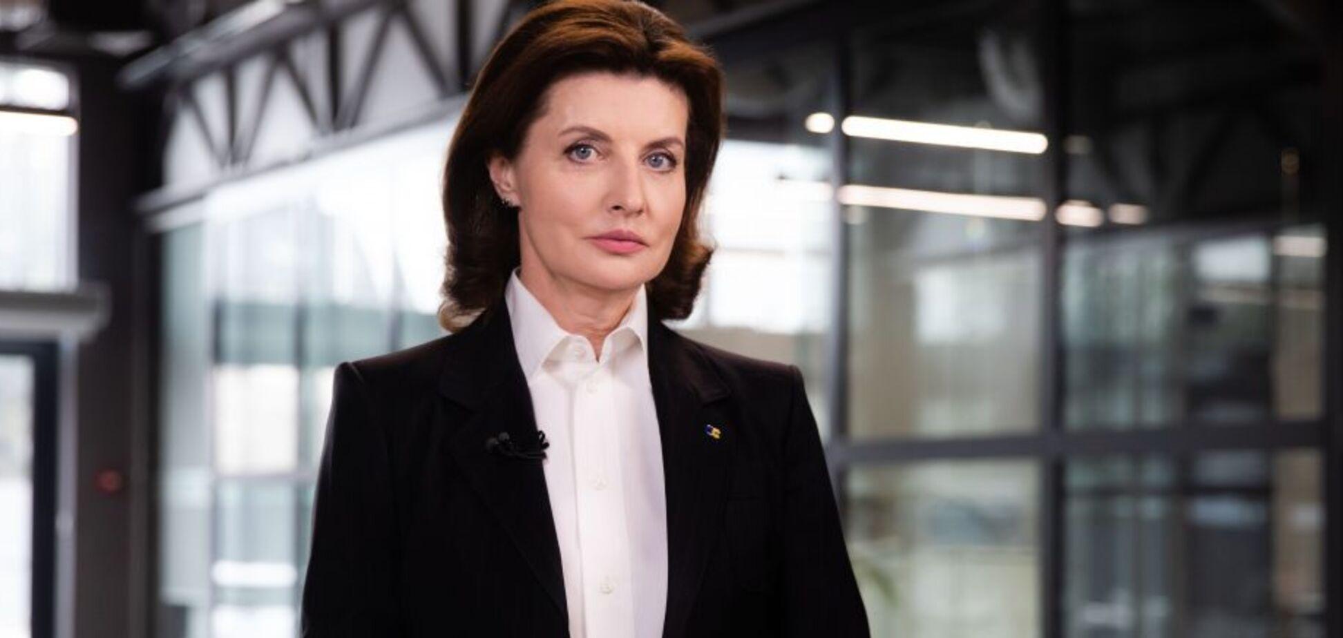 Марина Порошенко предложила шаги для ускорения вакцинации в Украине