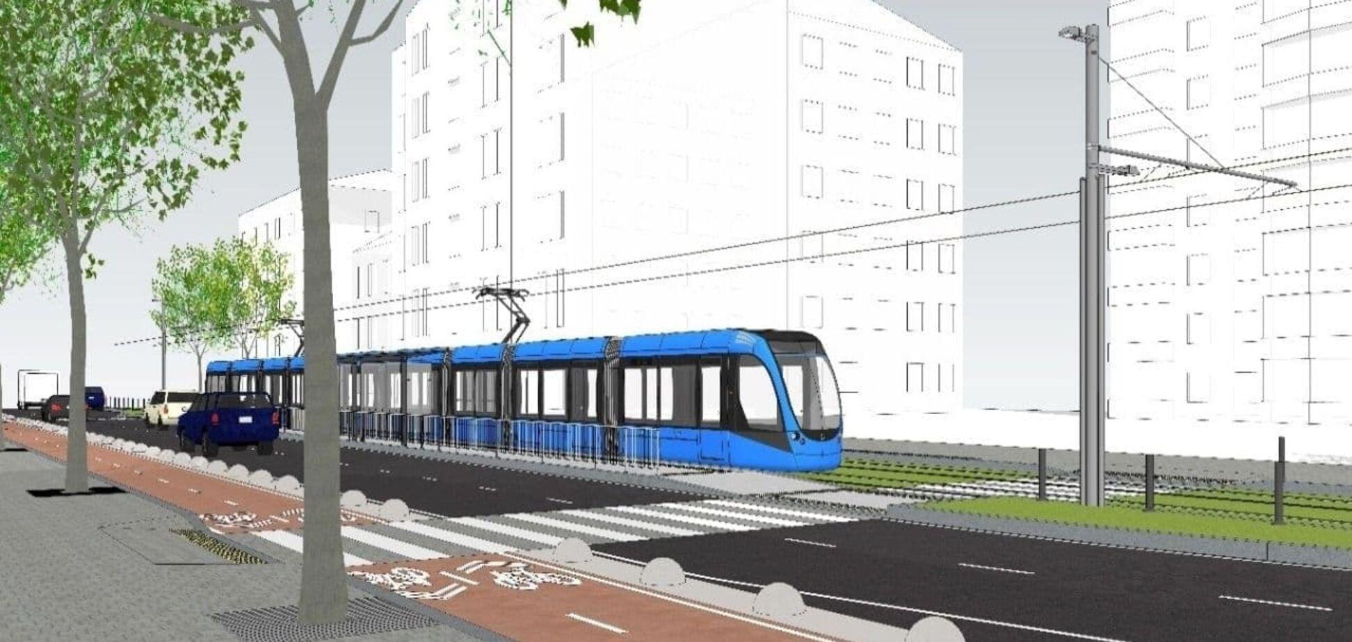 У Києві запустять швидкісний трамвай у центр міста