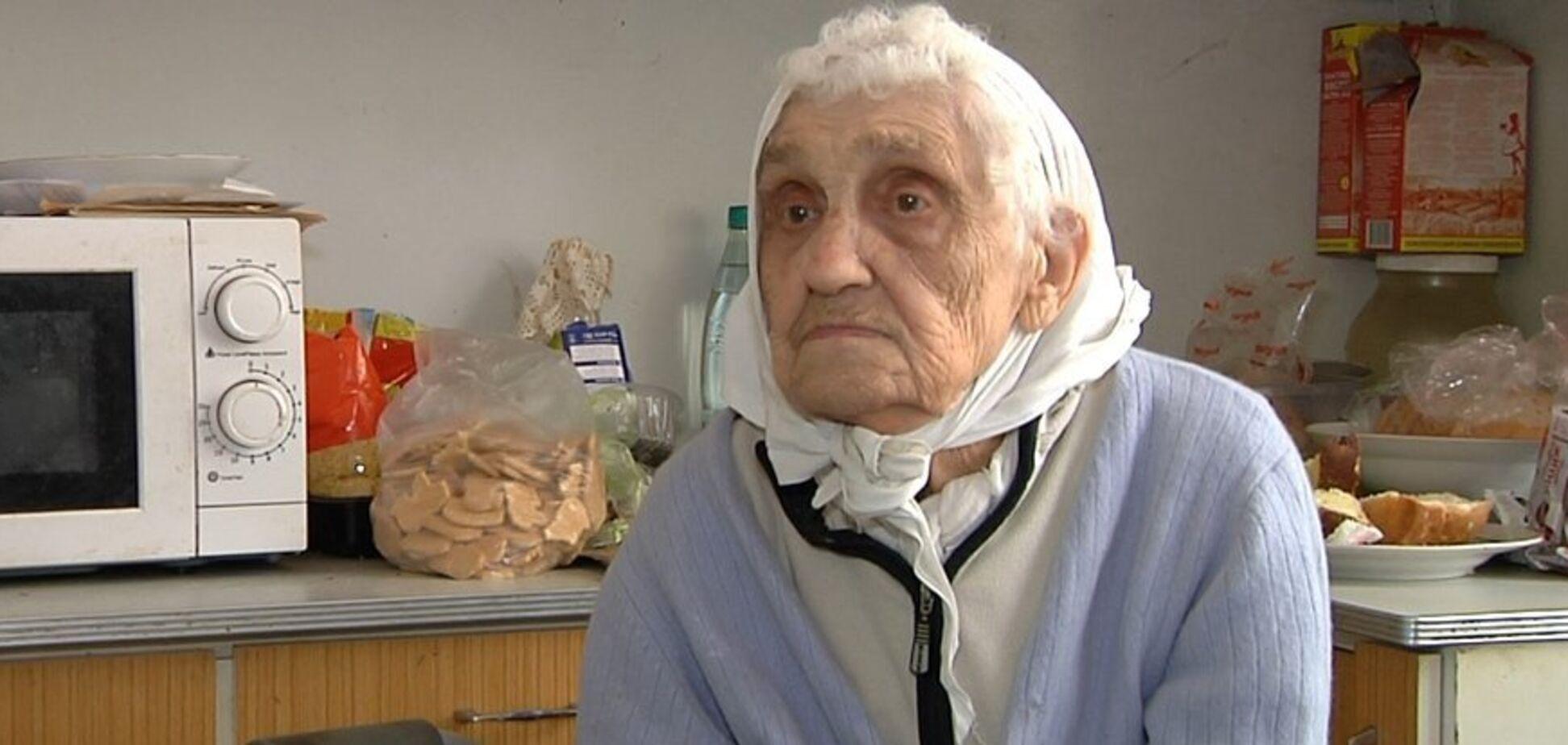 Ветеранка Другої світової Євгенія Авраменко