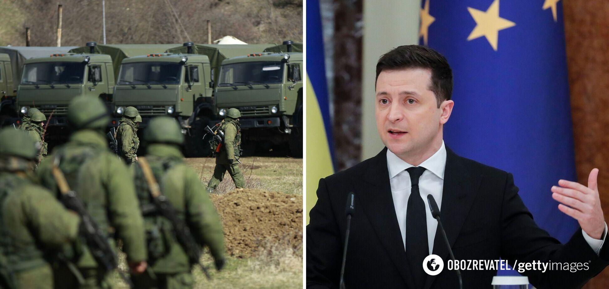 Росія відвела тільки 3,5 тис. військових від України, загроза зберігається, – Зеленський