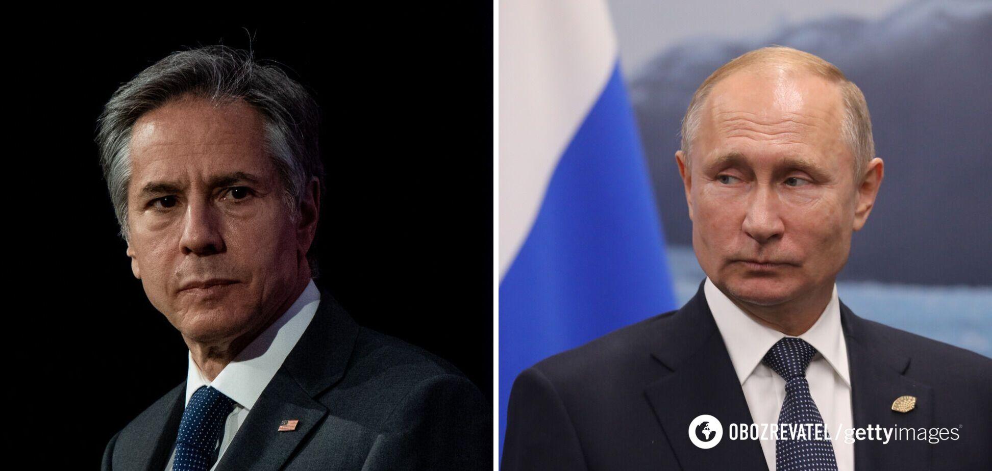 Блинкен признался, как в администрации Байдена относятся к Путину