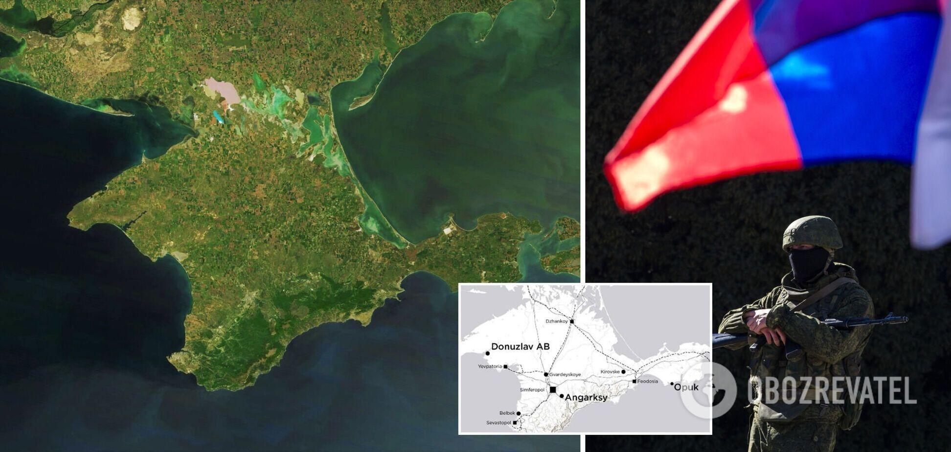 Росія масово стягнула до Криму війська та техніку: опубліковані супутникові знімки