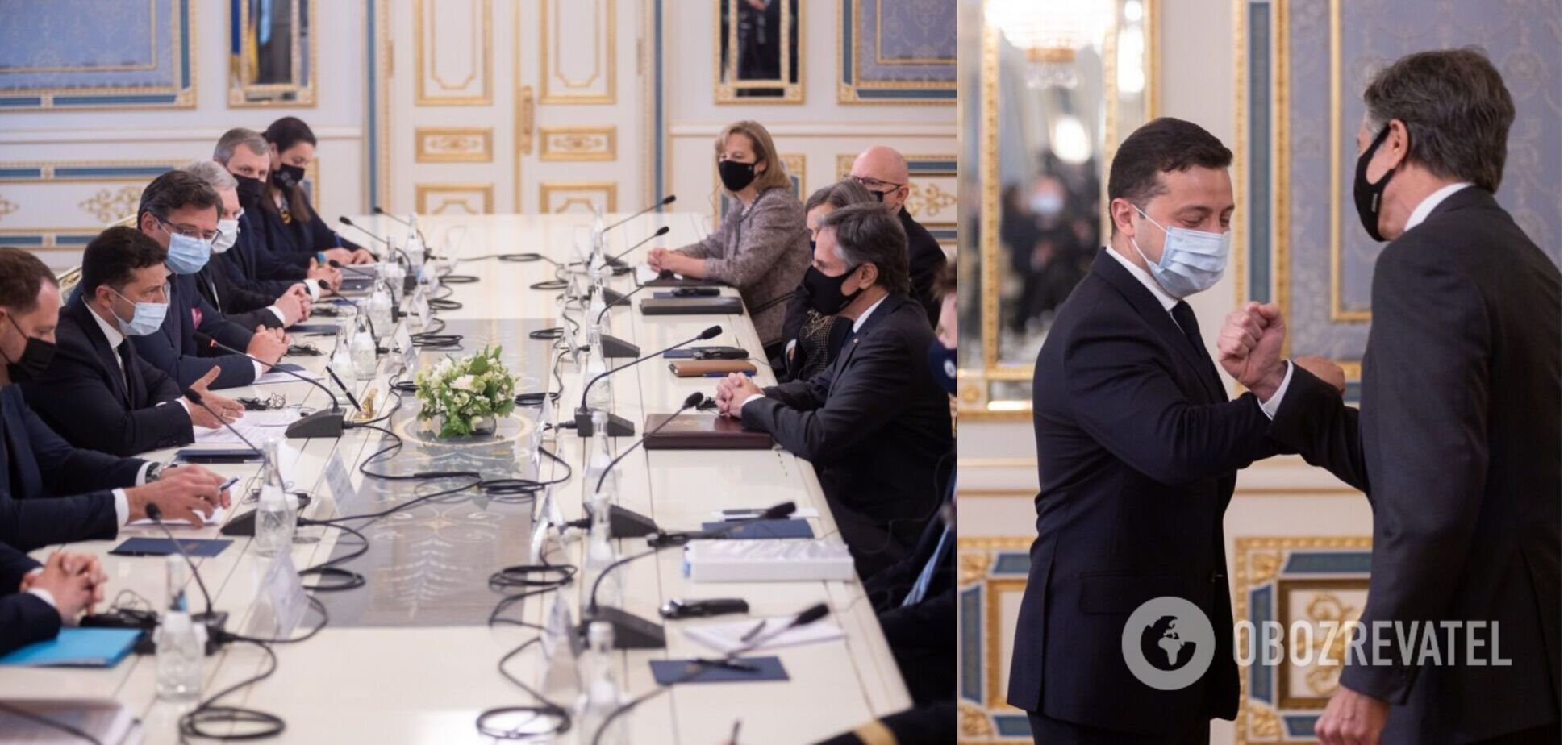 Зеленский и Блинкен провели переговоры