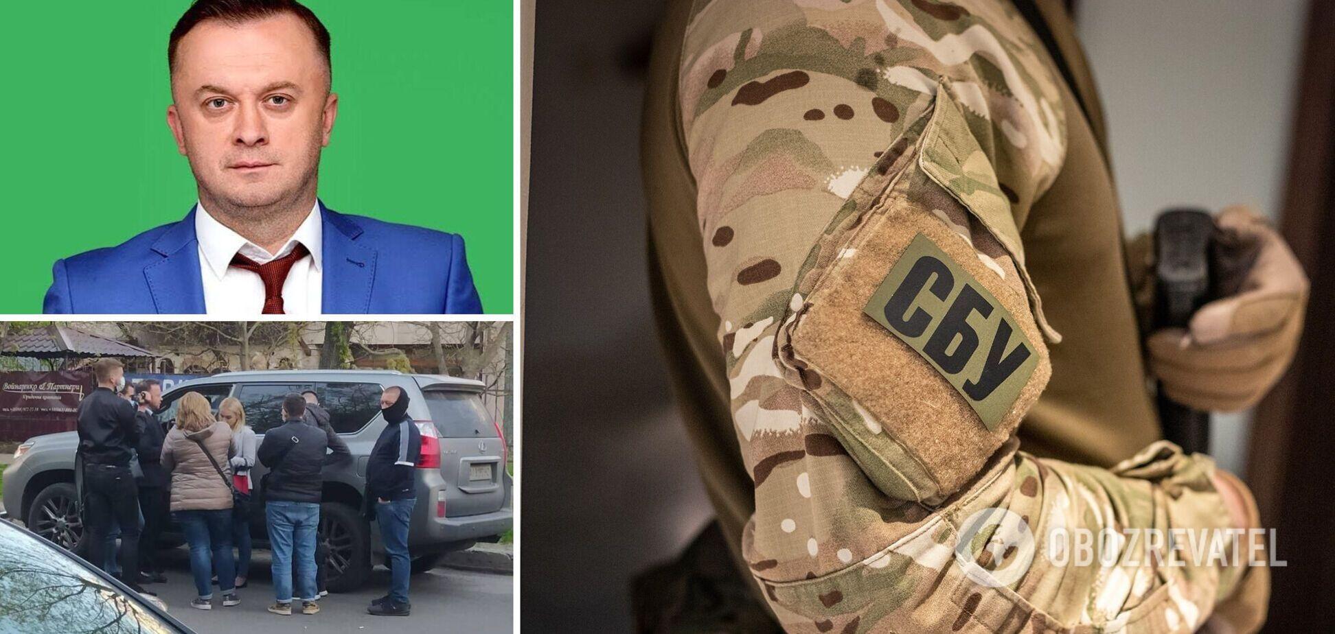 На Київщині СБУ затримала на хабарі чиновника зі 'Слуги народу' – джерело