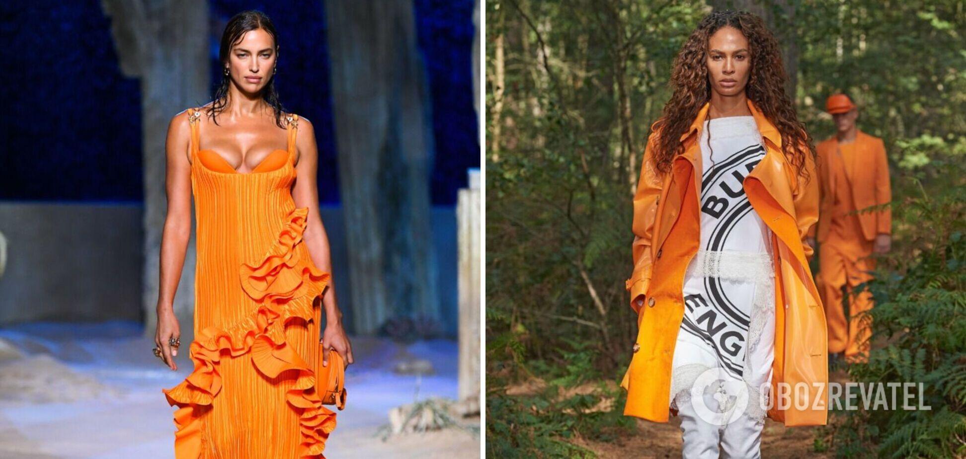 Як носити хіт сезону –помаранчевий колір