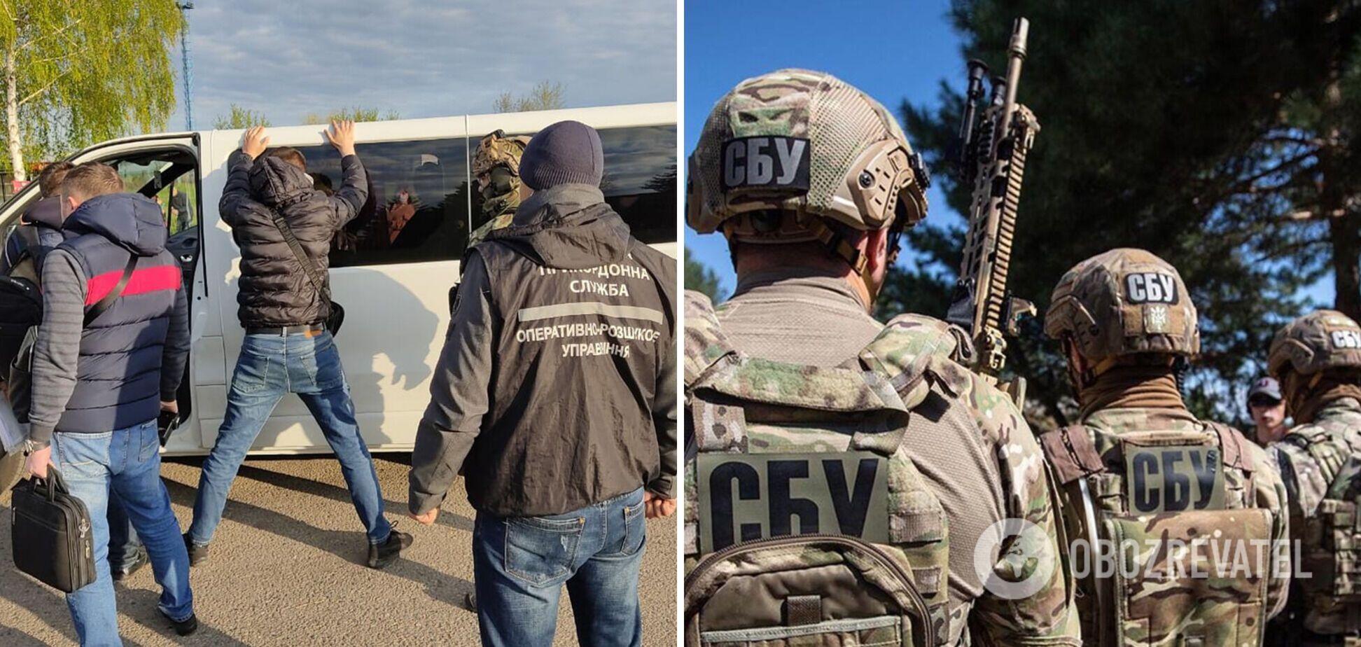 СБУ затримала нелегального перевізника, який платив данину терористам 'ДНР'. Фото