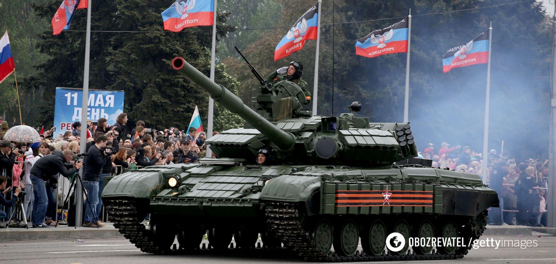 На параді в Донецьку Київ будуть лякати новою зброєю, – Гармаш
