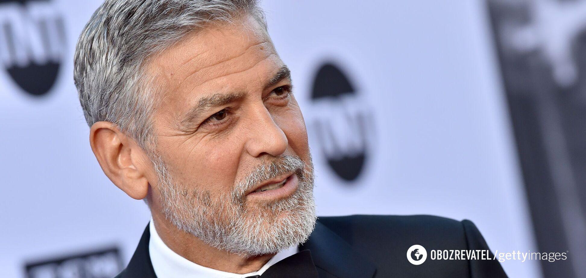 Голливудский актер и секс-символ Джордж Клуни