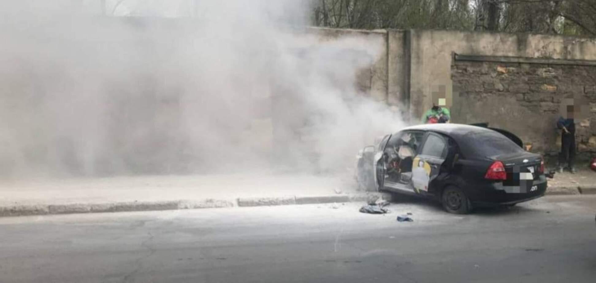 Смертельна ДТП з таксі Uklon в Одесі