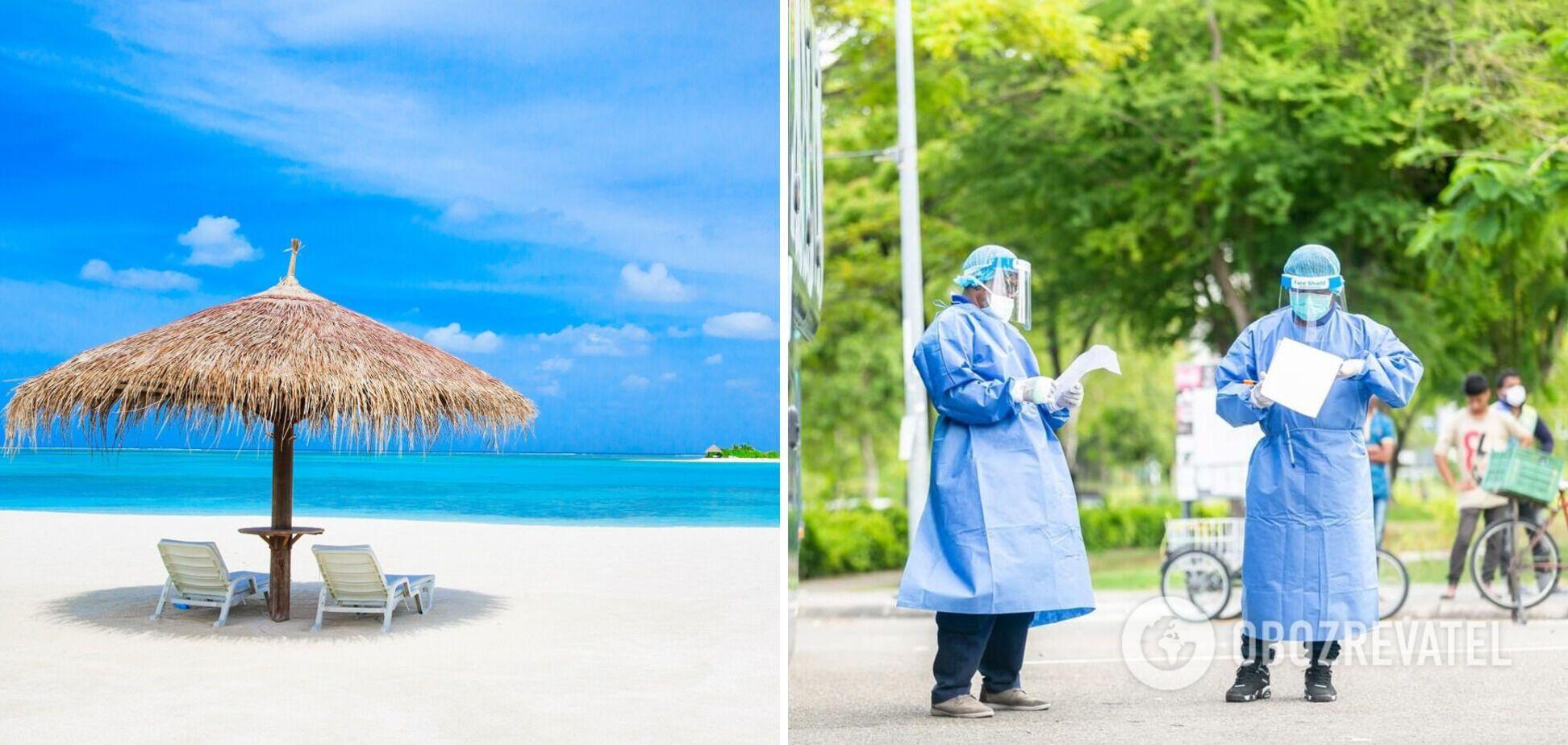 На Мальдівах ввели комендантську годину через COVID-19