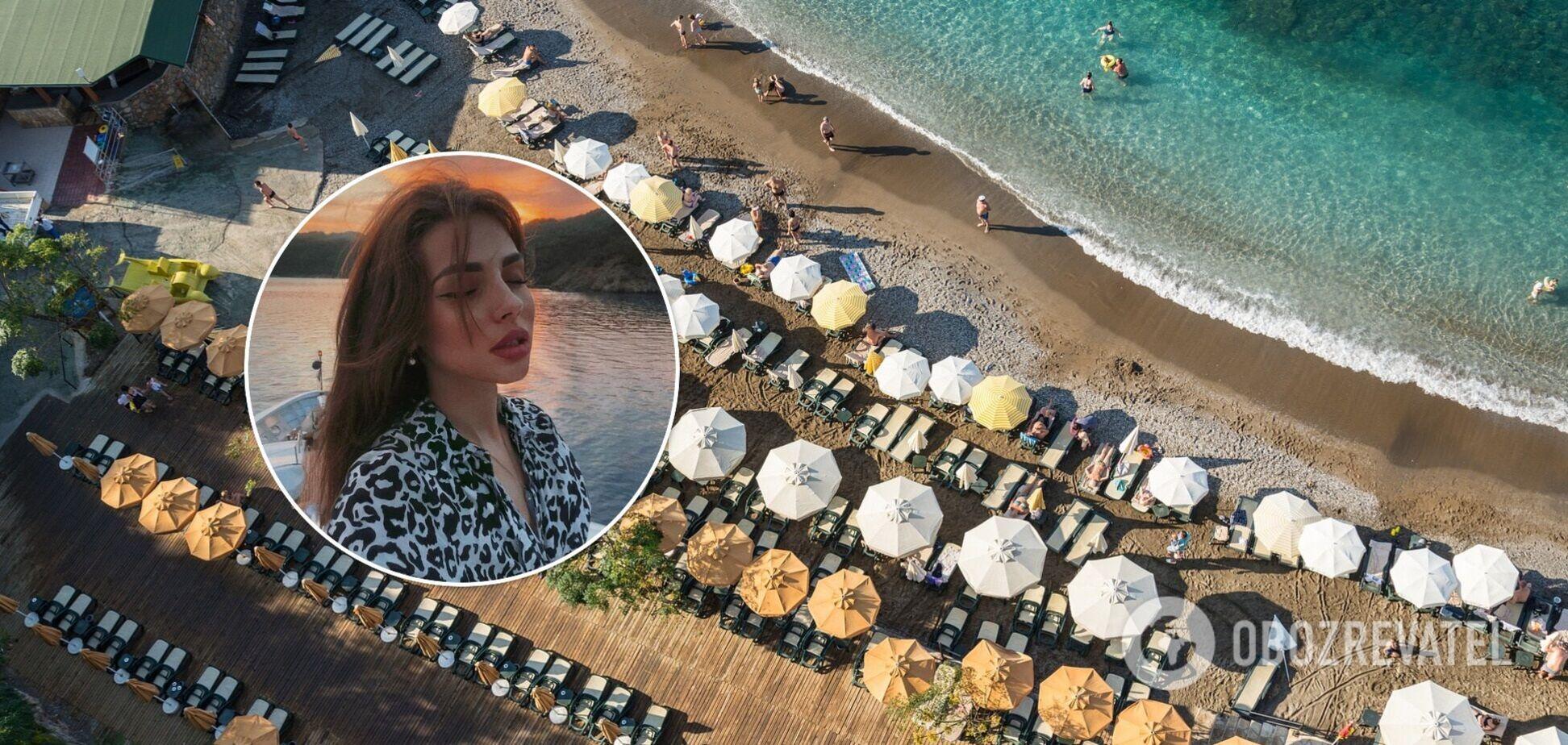 Учасниця відвертої фотосесії в Туреччині показала нові фото