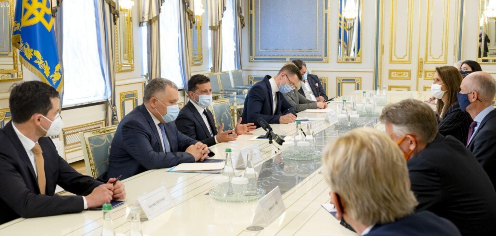 Зеленський зустрівся з главами МЗС країн ЄС: що обговорили