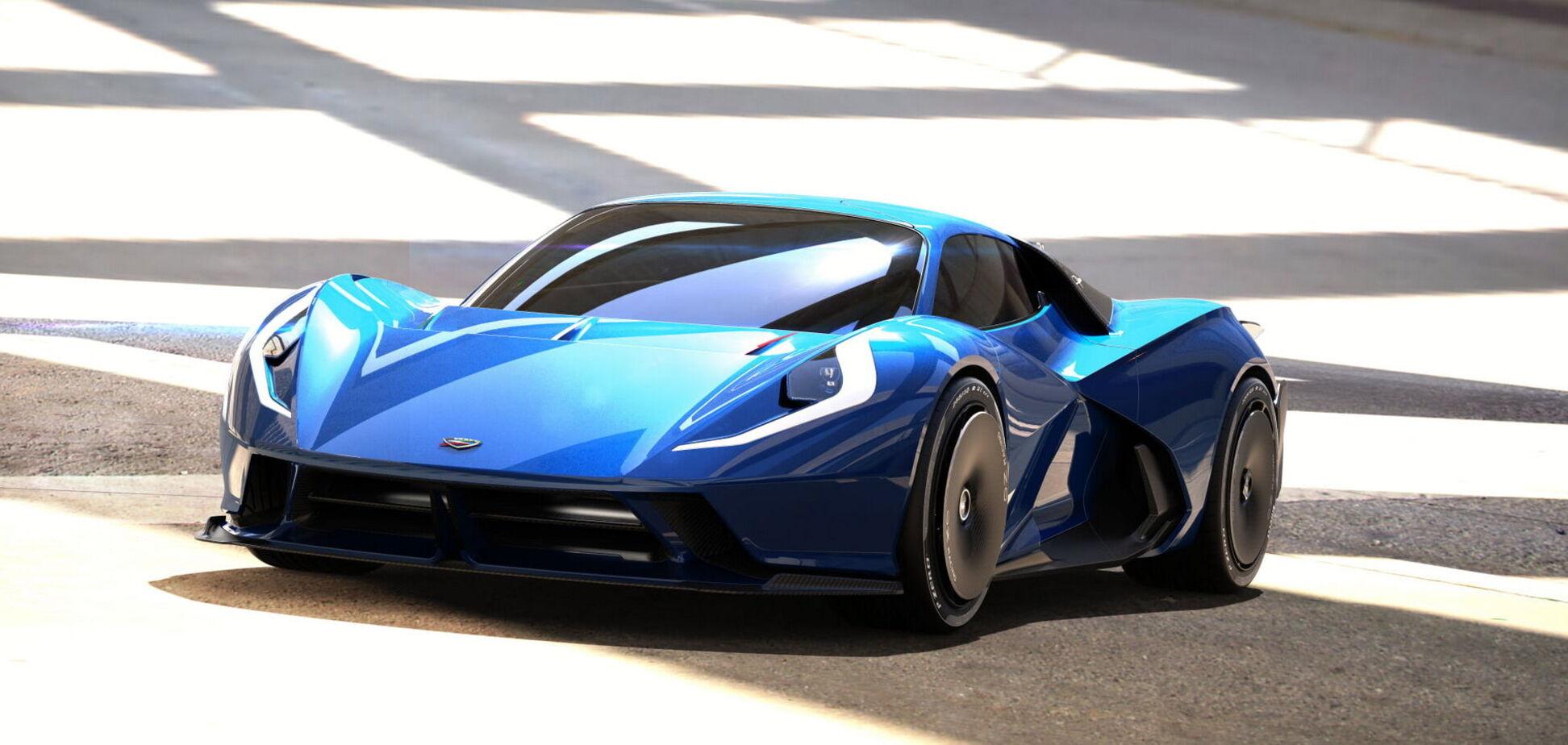 Суперкар Estrema Fulminea з Італії отримає 2040-сильний мотор