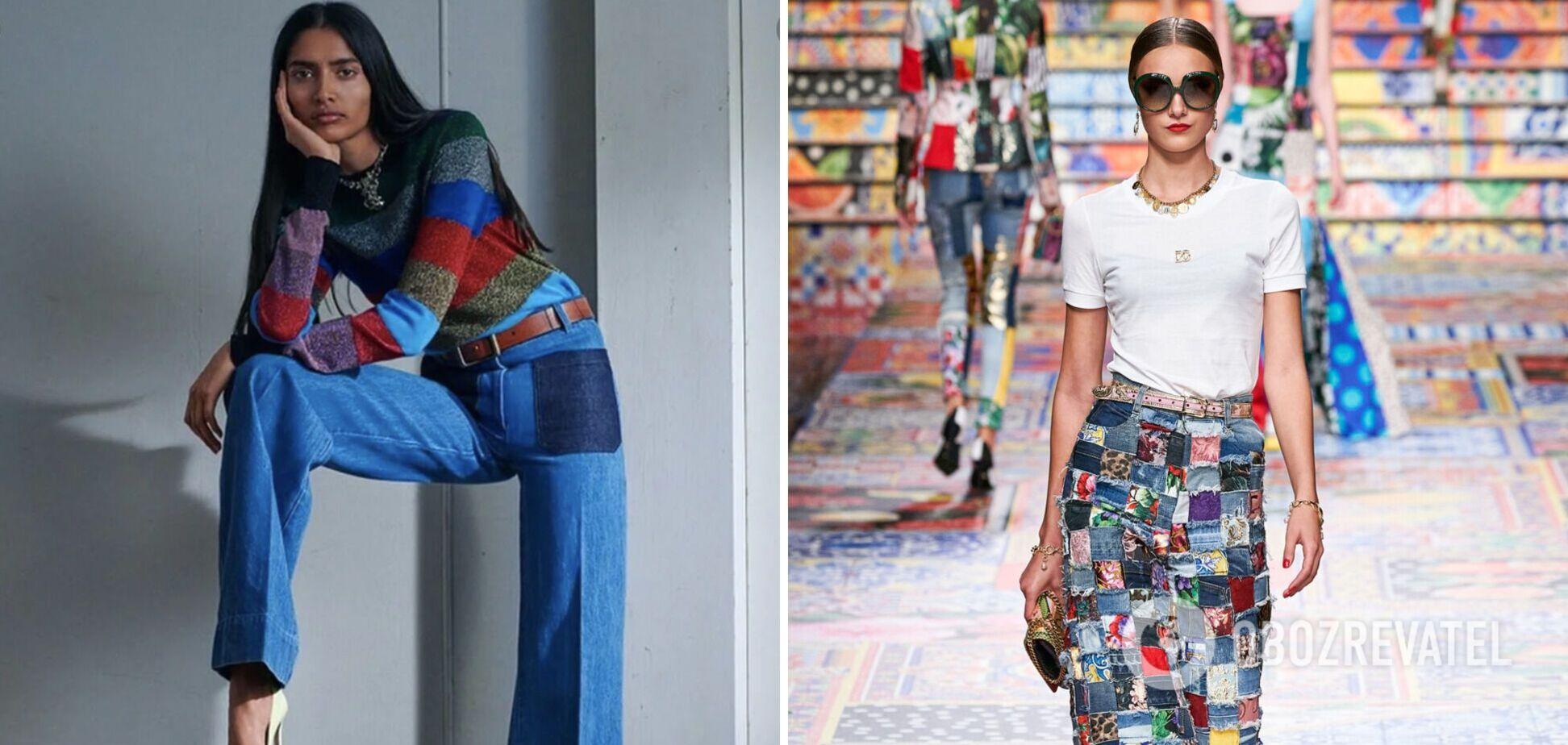 Дизайнери створюють екстравагантні моделі джинсів