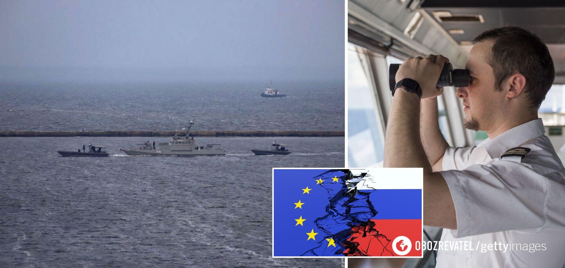 У ЄС визнали, що російська блокада в Чорному морі несе дестабілізацію регіону