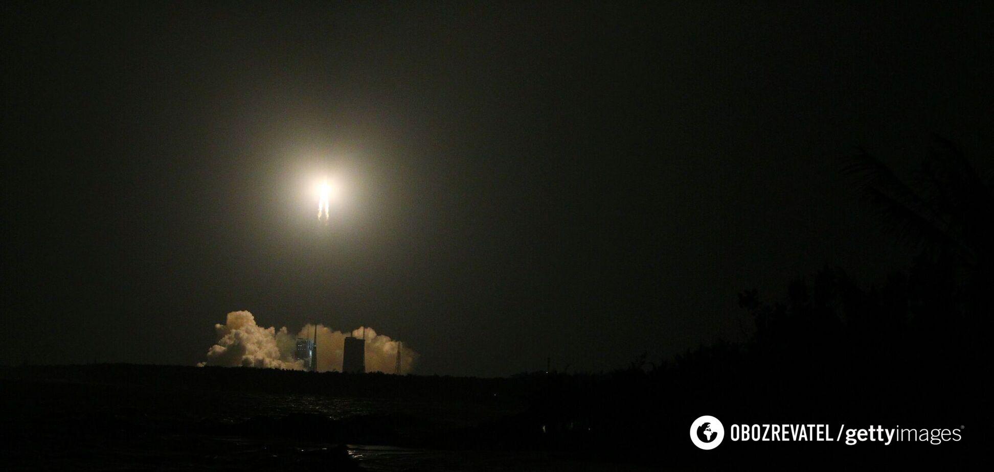 Названо місце падіння уламків некерованої китайської ракети