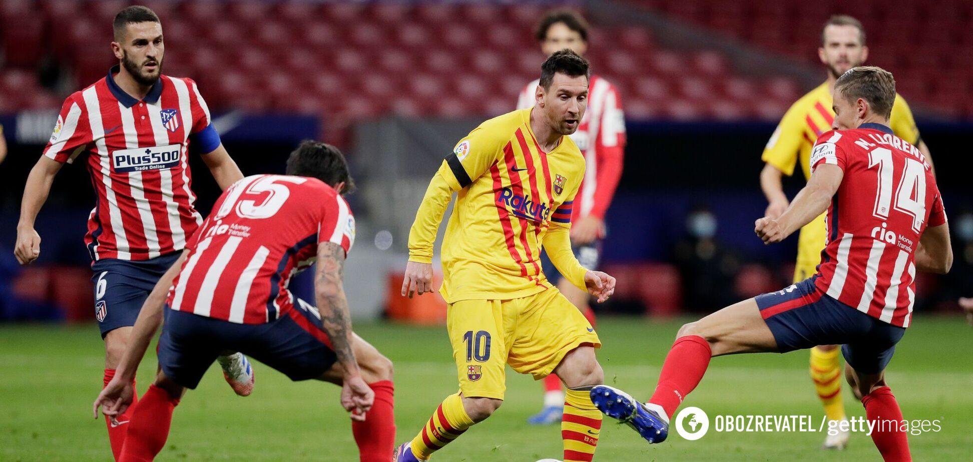 Барселона Атлетіко