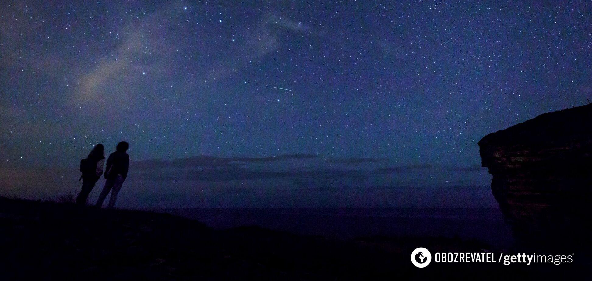 У США людей налякали вогні в небі: їх сприйняли за уламки китайської ракети. Фото