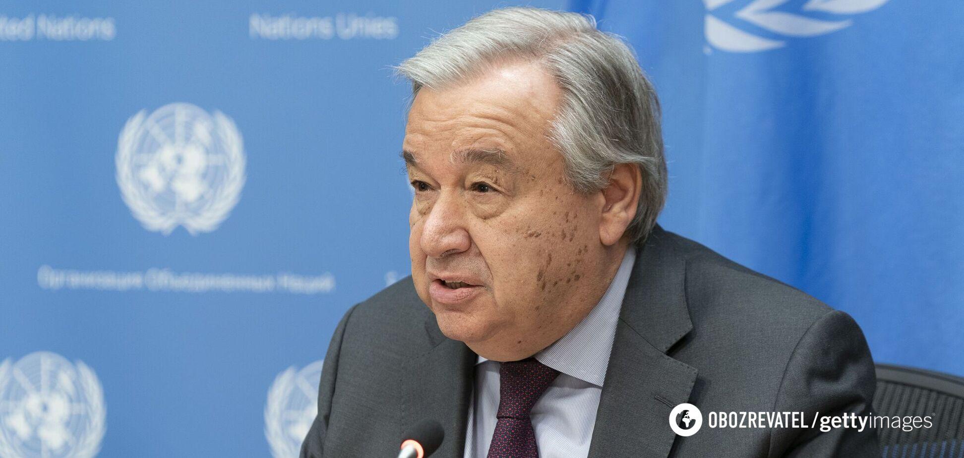 Генсек ООН попередив про наближення світу до катастрофи