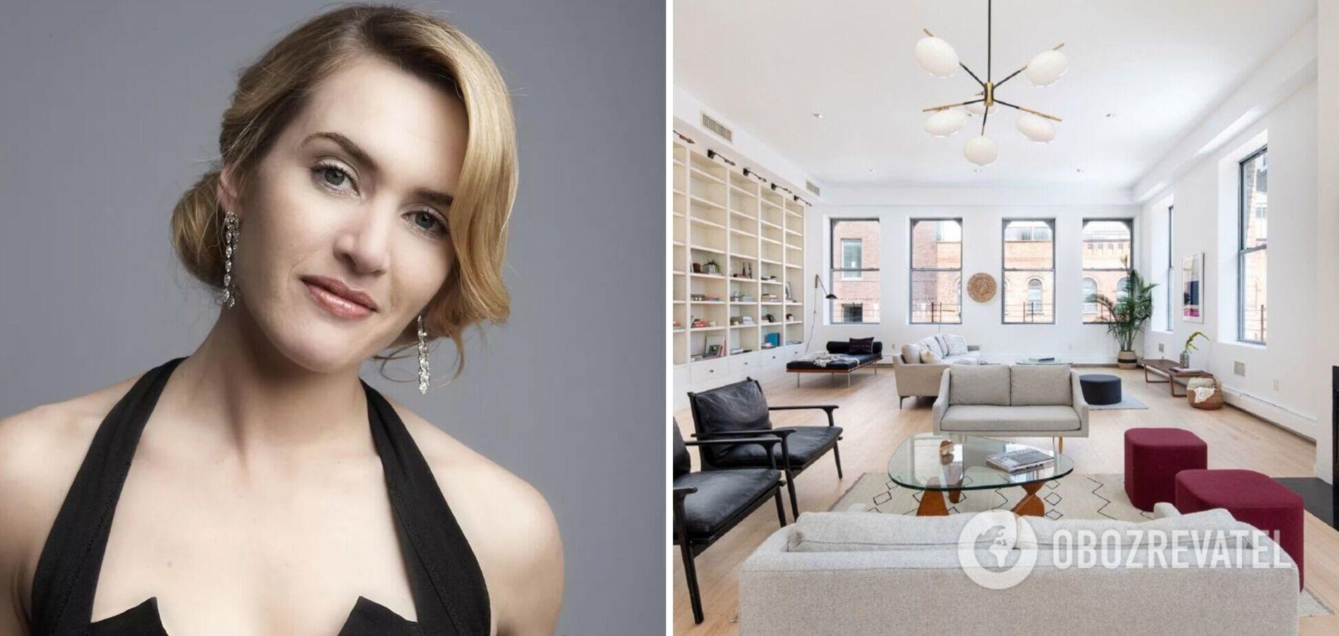Кейт Уинслет продала пентхаус за $5,7 млн: как он выглядит изнутри