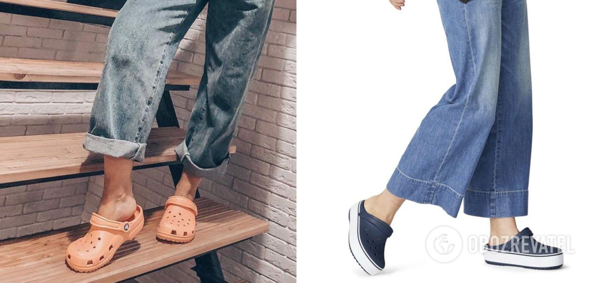 Крокси визнали найзручнішим і модним взуттям у 2021 році
