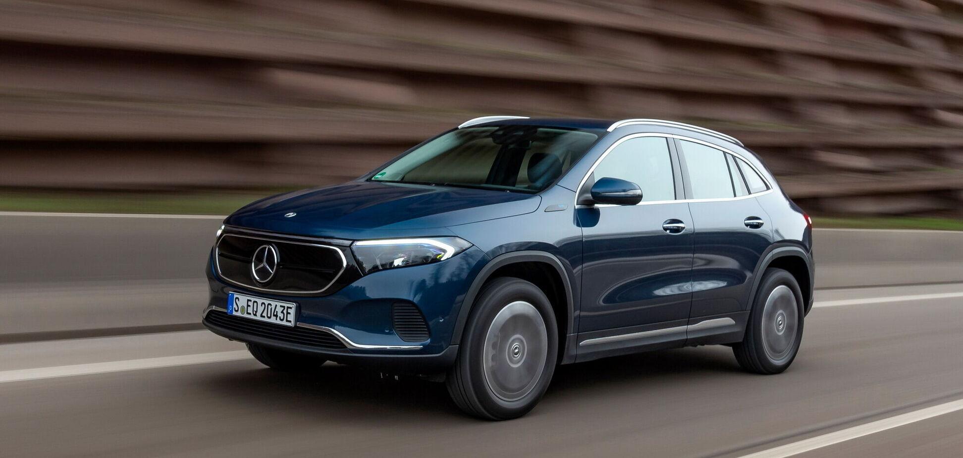 Mercedes-Benz розширив сімейство електрокросів EQA