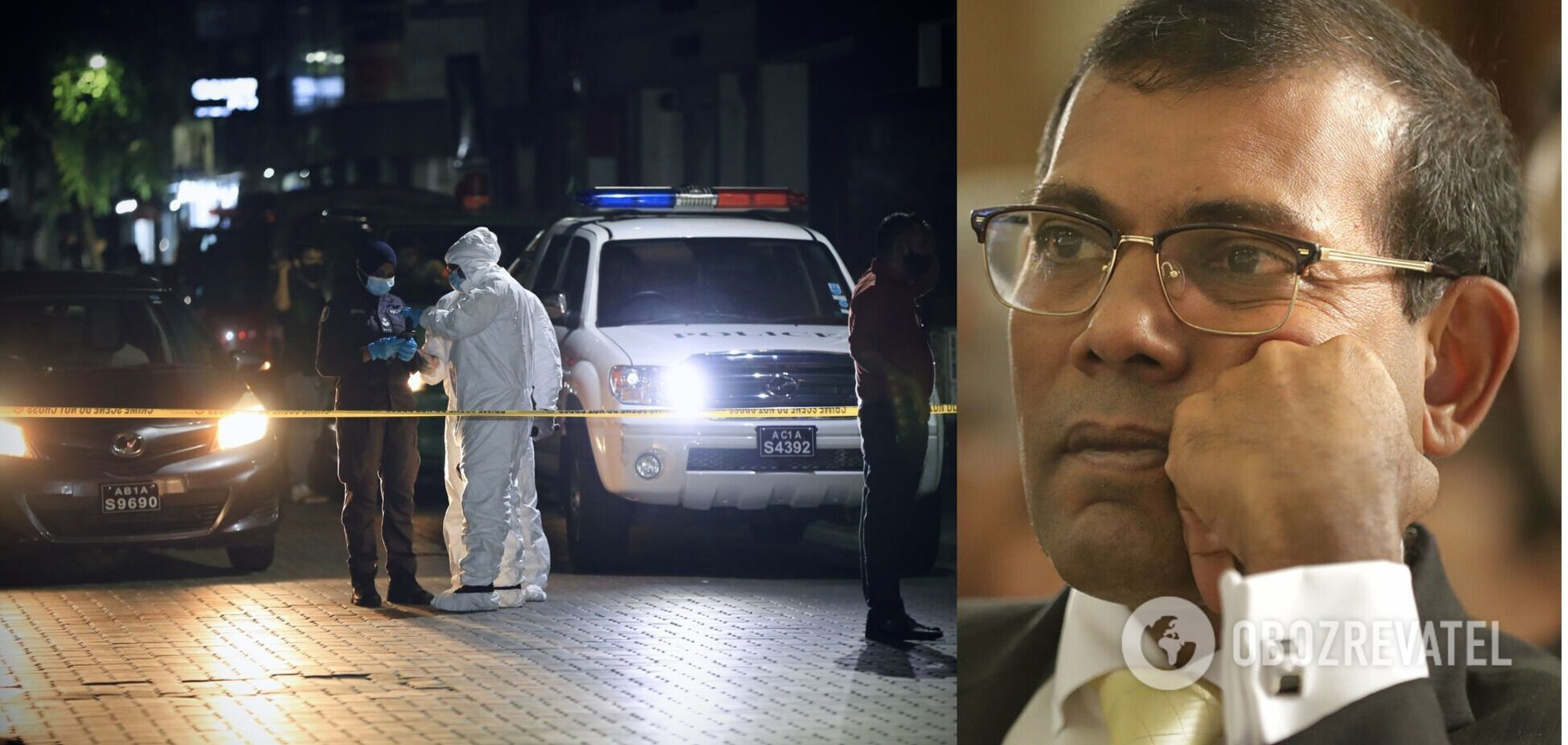 На Мальдівах під час вибуху постраждав глава парламенту: підозрюють теракт. Фото