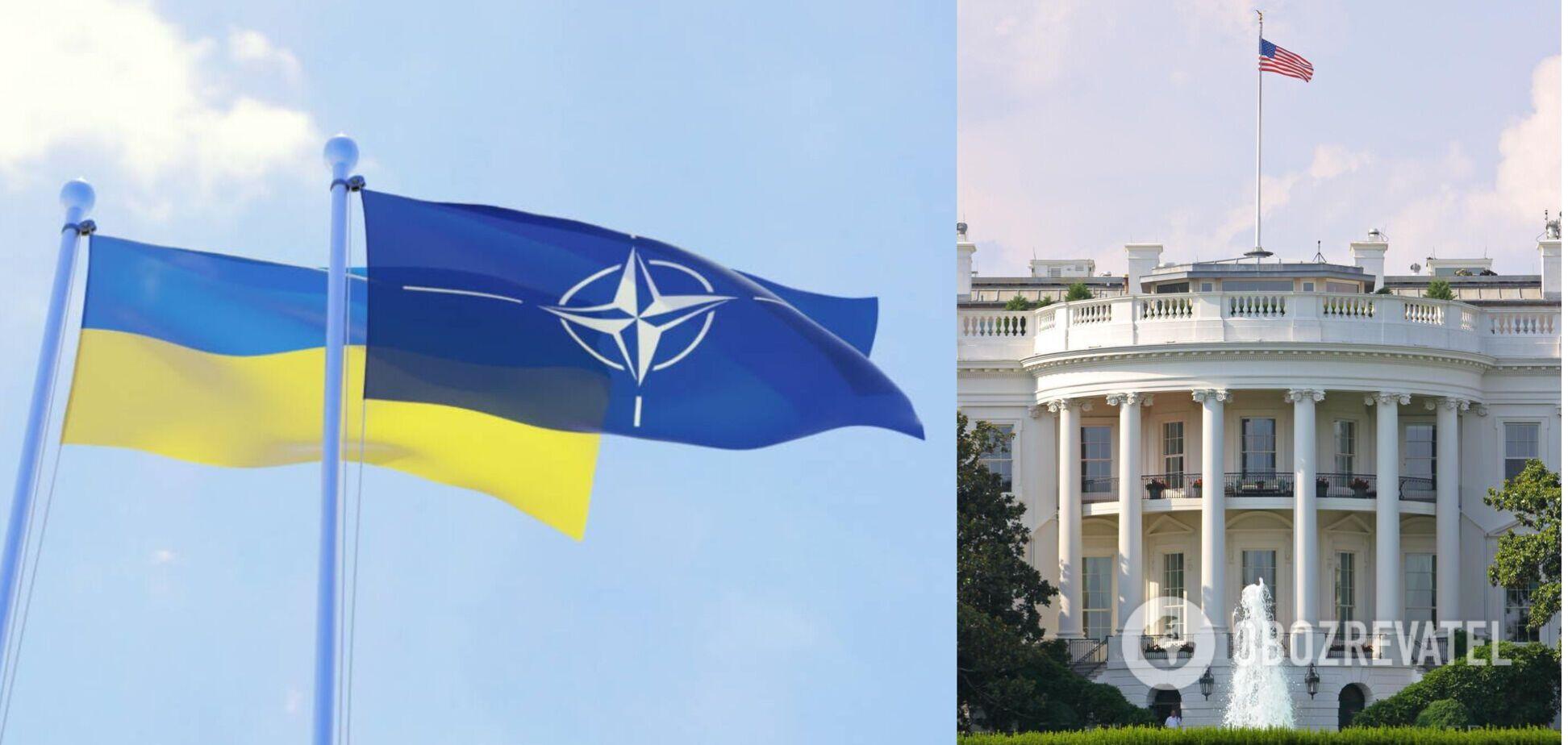В США изменили слова о поддержке вступления Украины в НАТО
