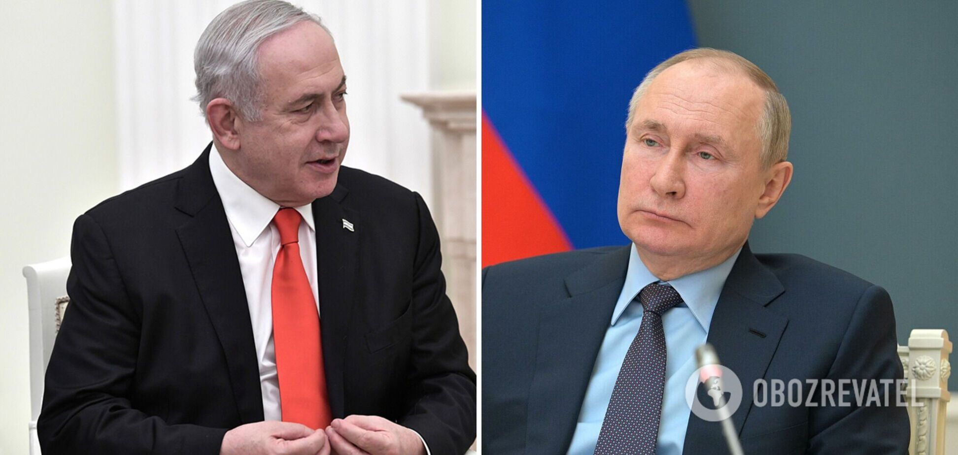 Нетаньяху, який може стати посередником між Україною і РФ, розповів Путіну про переговори з Києвом